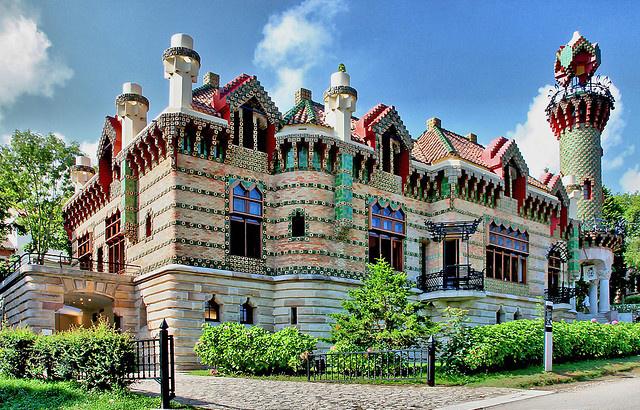 El Capricho de Gaudí, en Comillas.