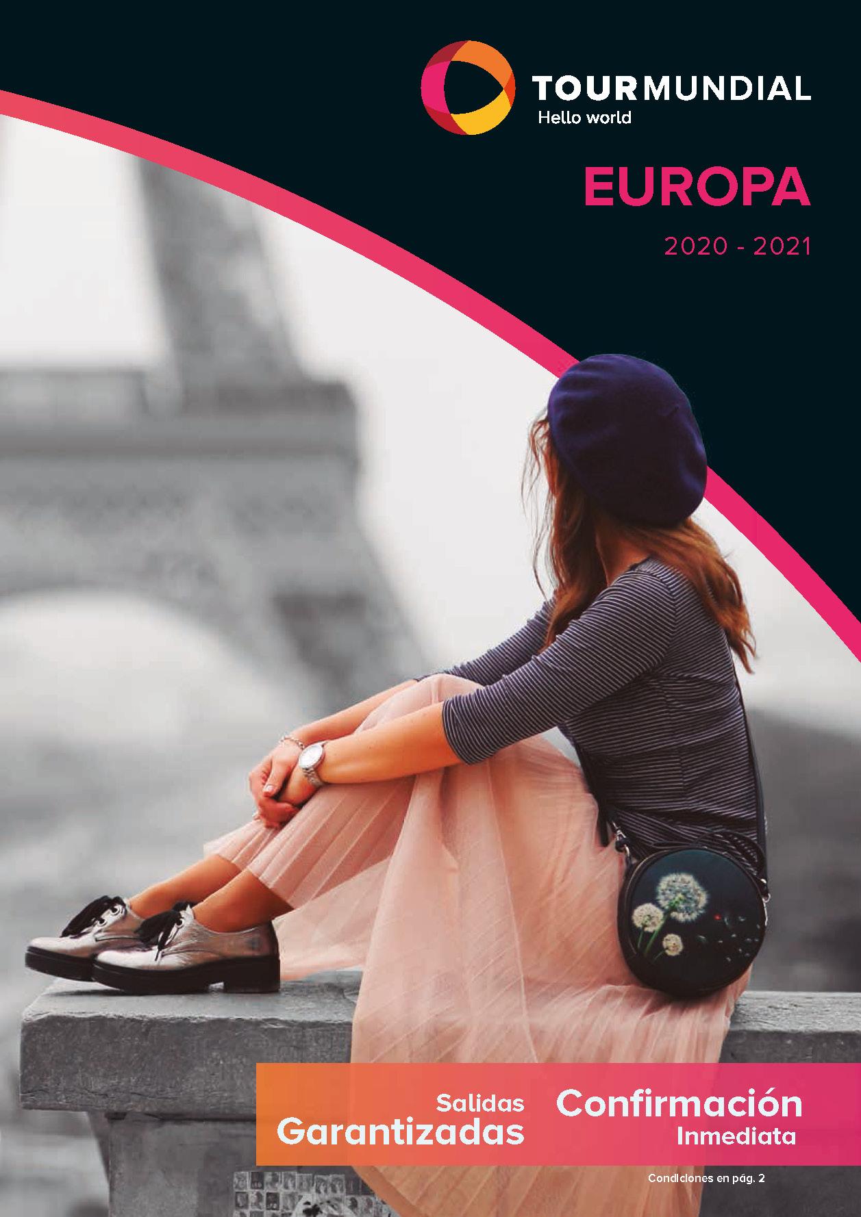 Catálogo Tourmundial Europa 2020