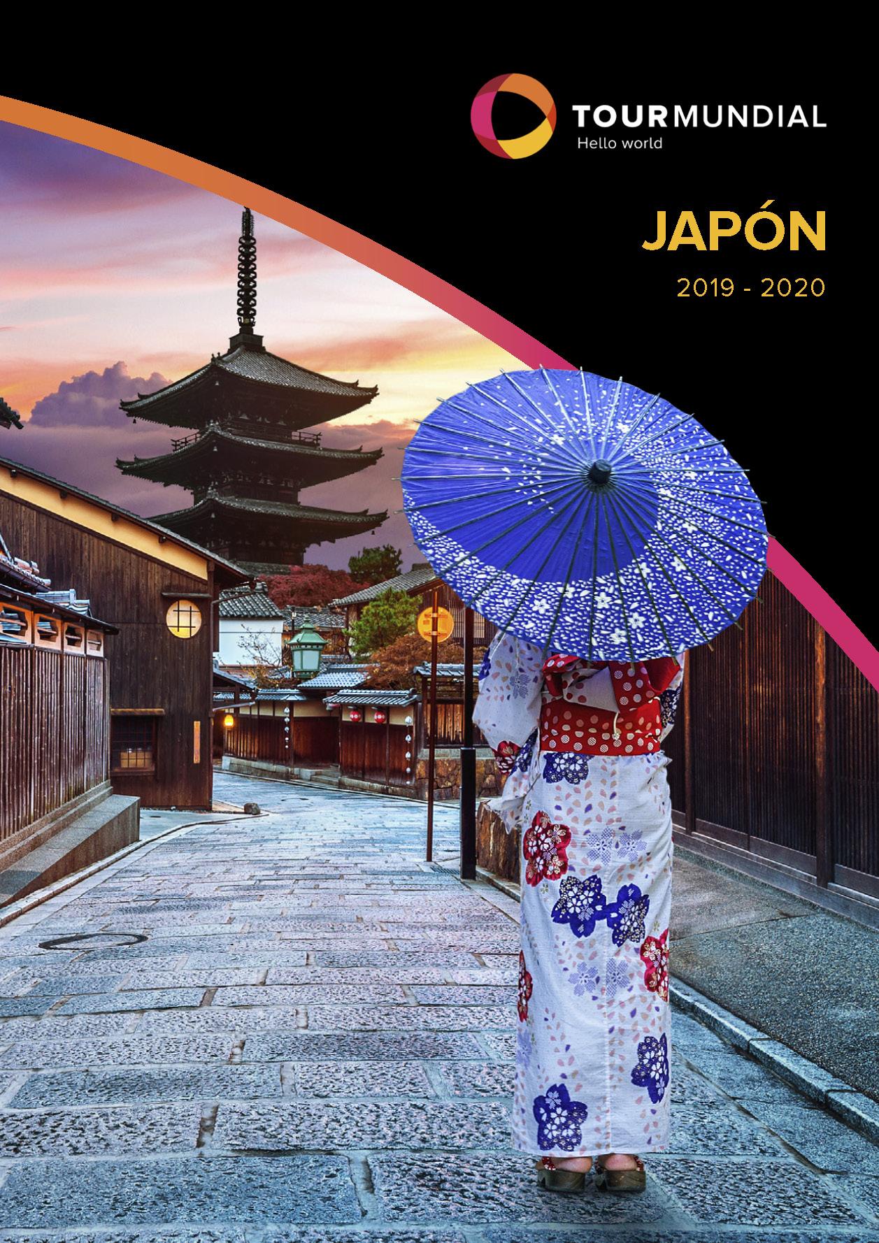 Catálogo Tourmundial Japón 2019-2020