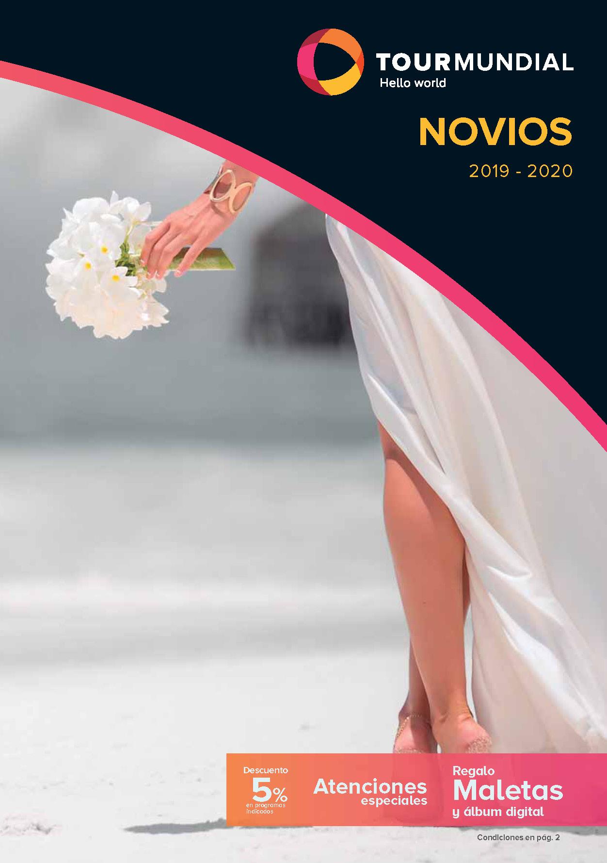 Catálogo Tourmundial Novios 2019-2020