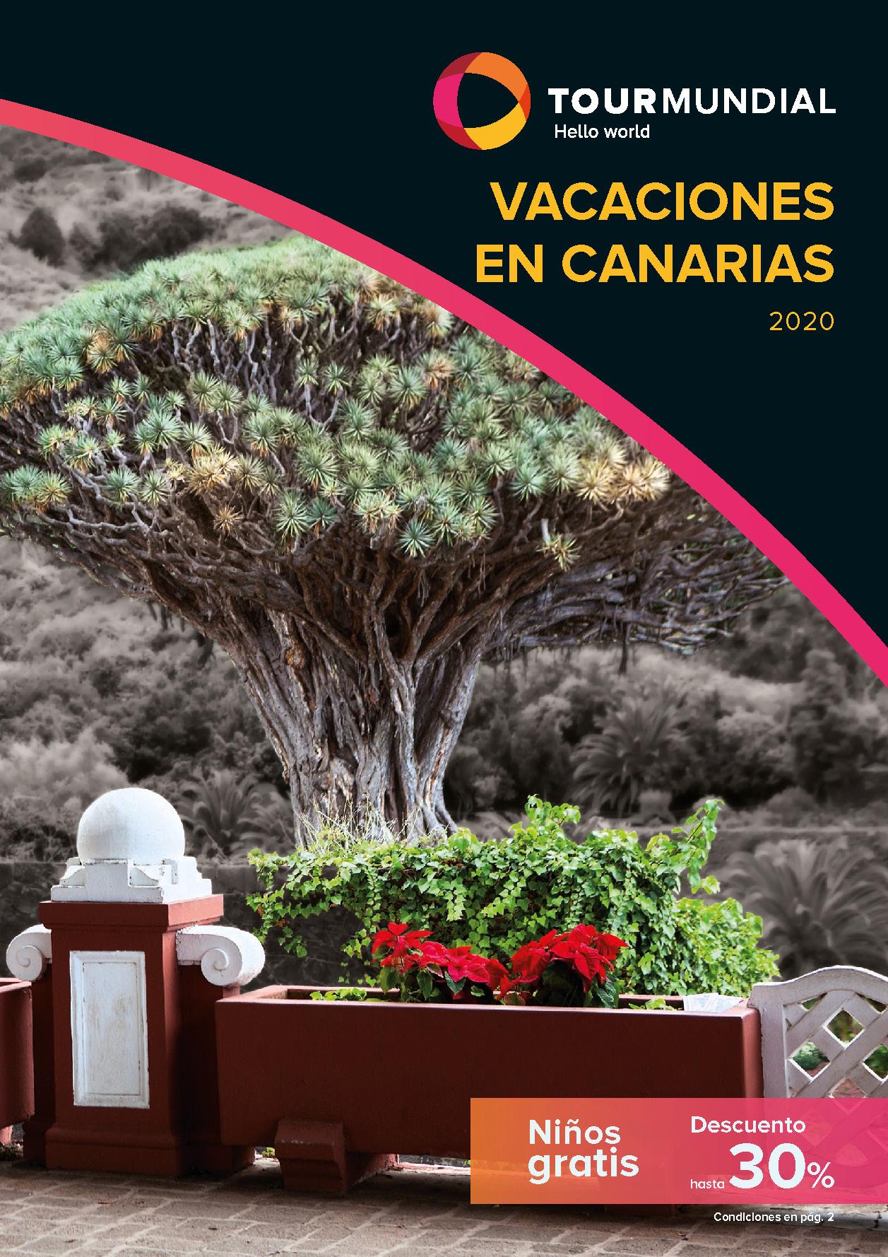 Catálogo Tourmundial Vacaciones en Canarias 2020