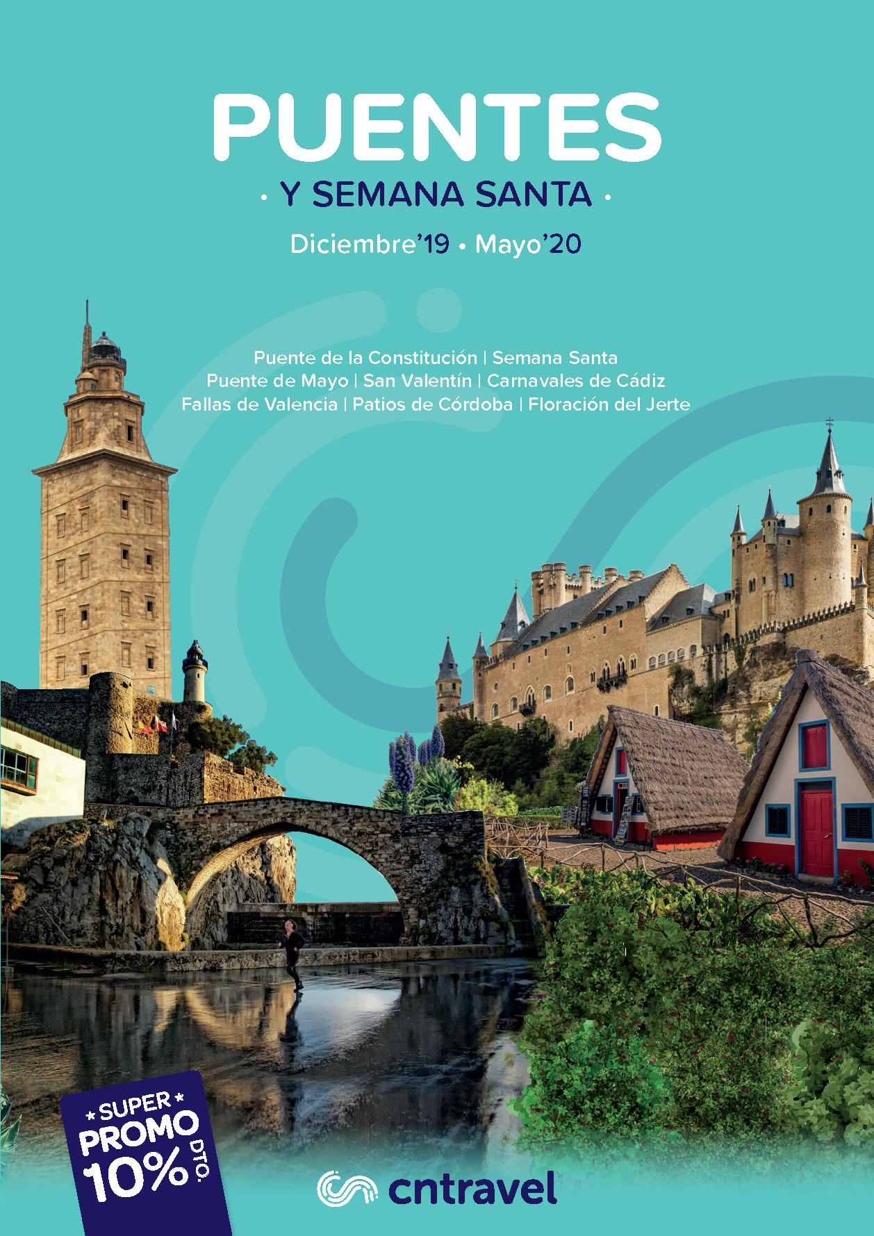 Catalogo CN Travel Puentes 2019-2020 salidas Centro