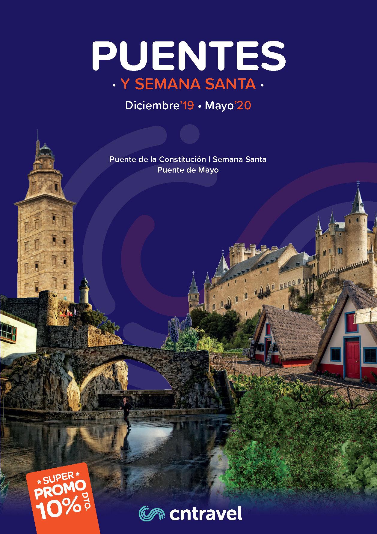 Catalogo CN Travel Puentes 2019-2020 salidas Levante Murcia Albacete