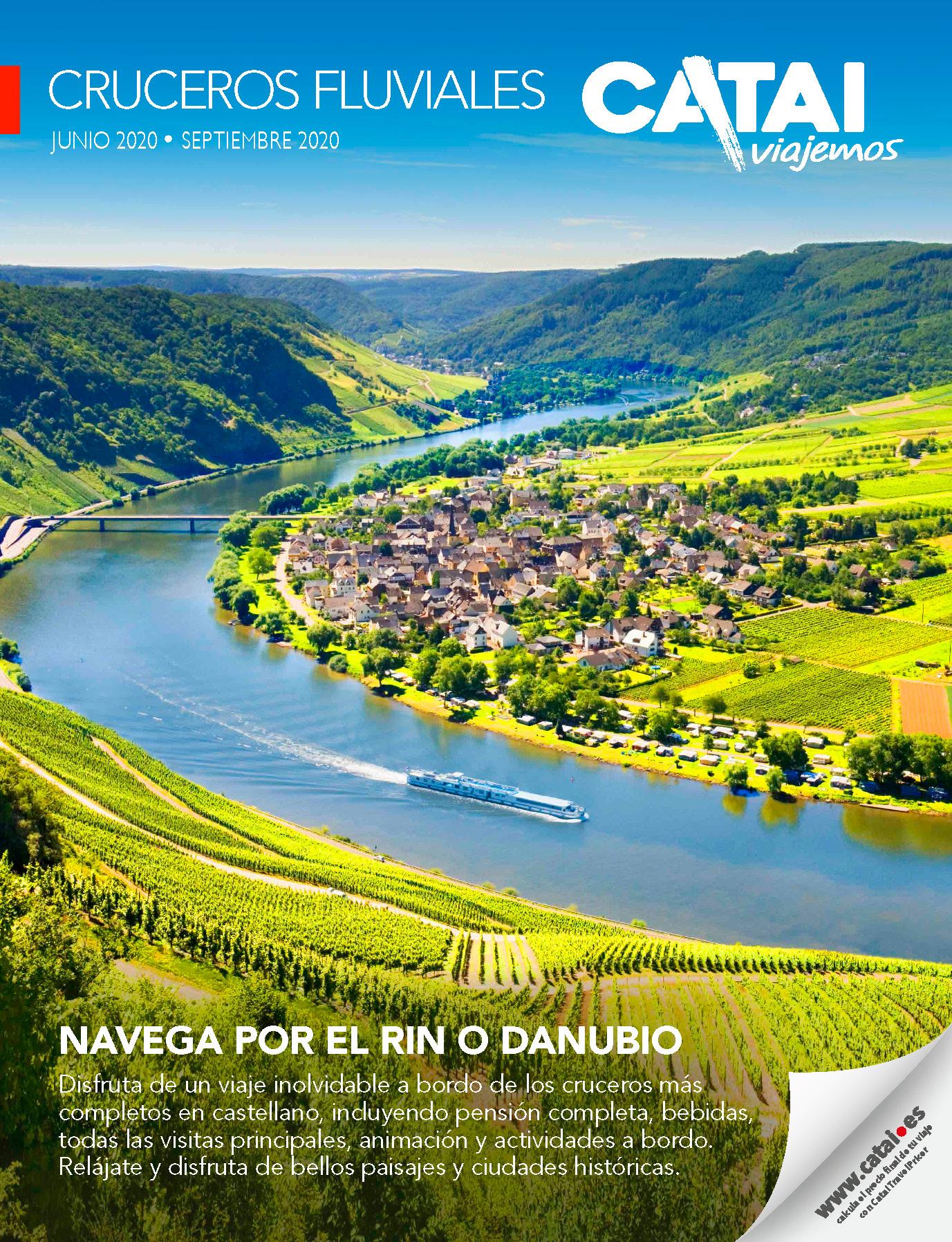 Catalogo Catai Cruceros Fluviales 2020