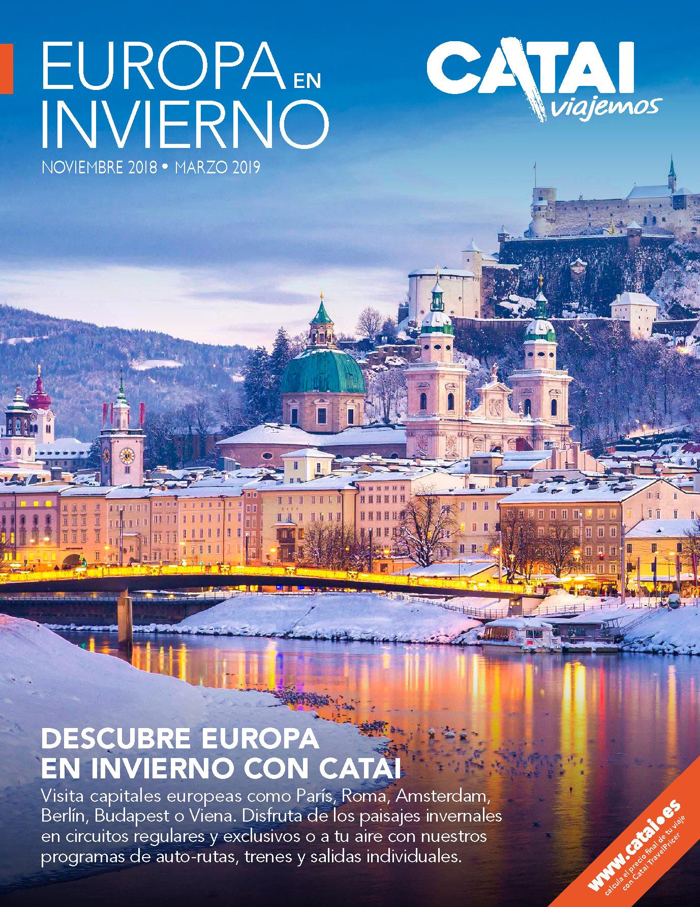 Catalogo Catai Europa en Invierno 2018-2019
