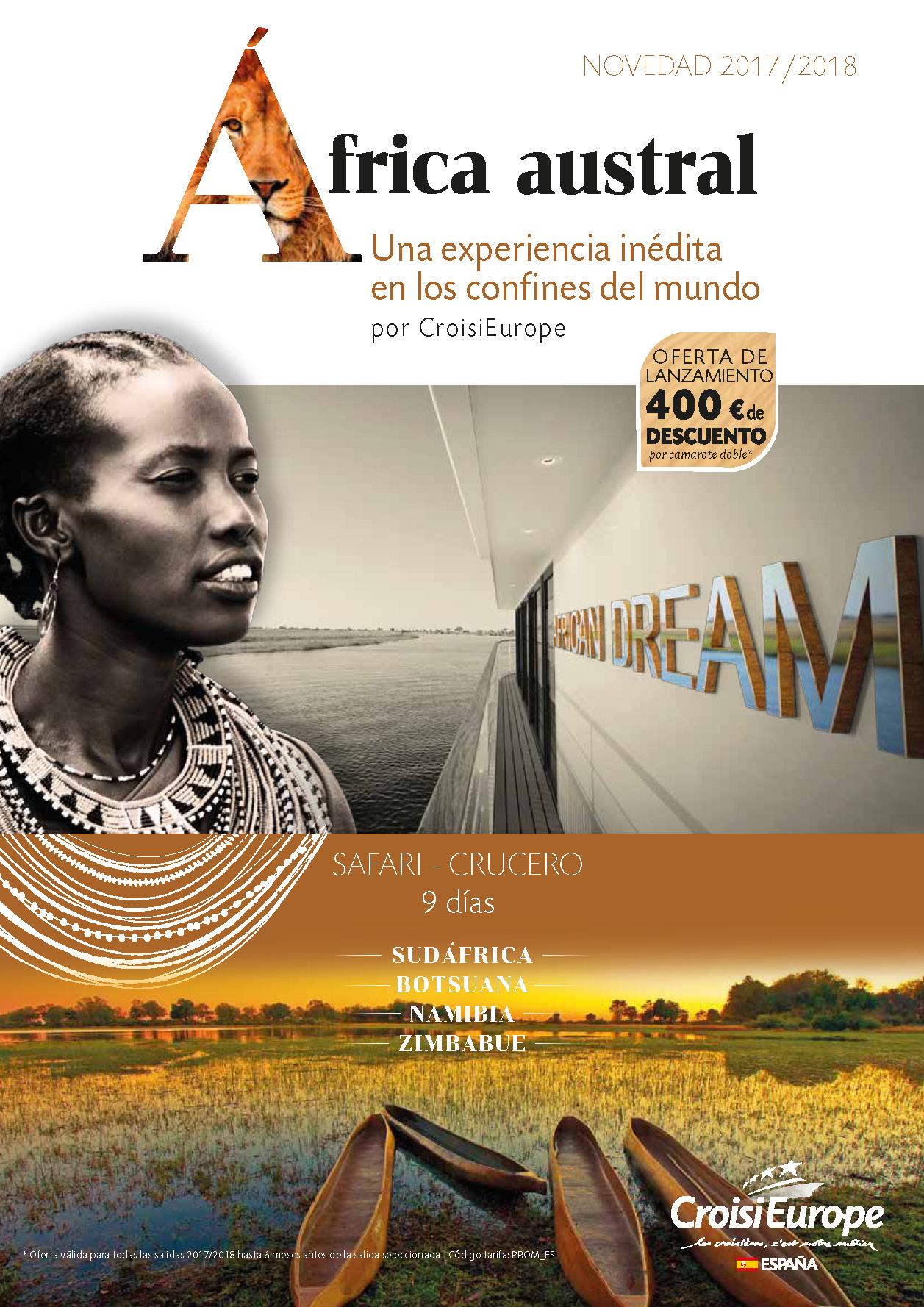 Catalogo CroisiEurope Africa 2017-2018