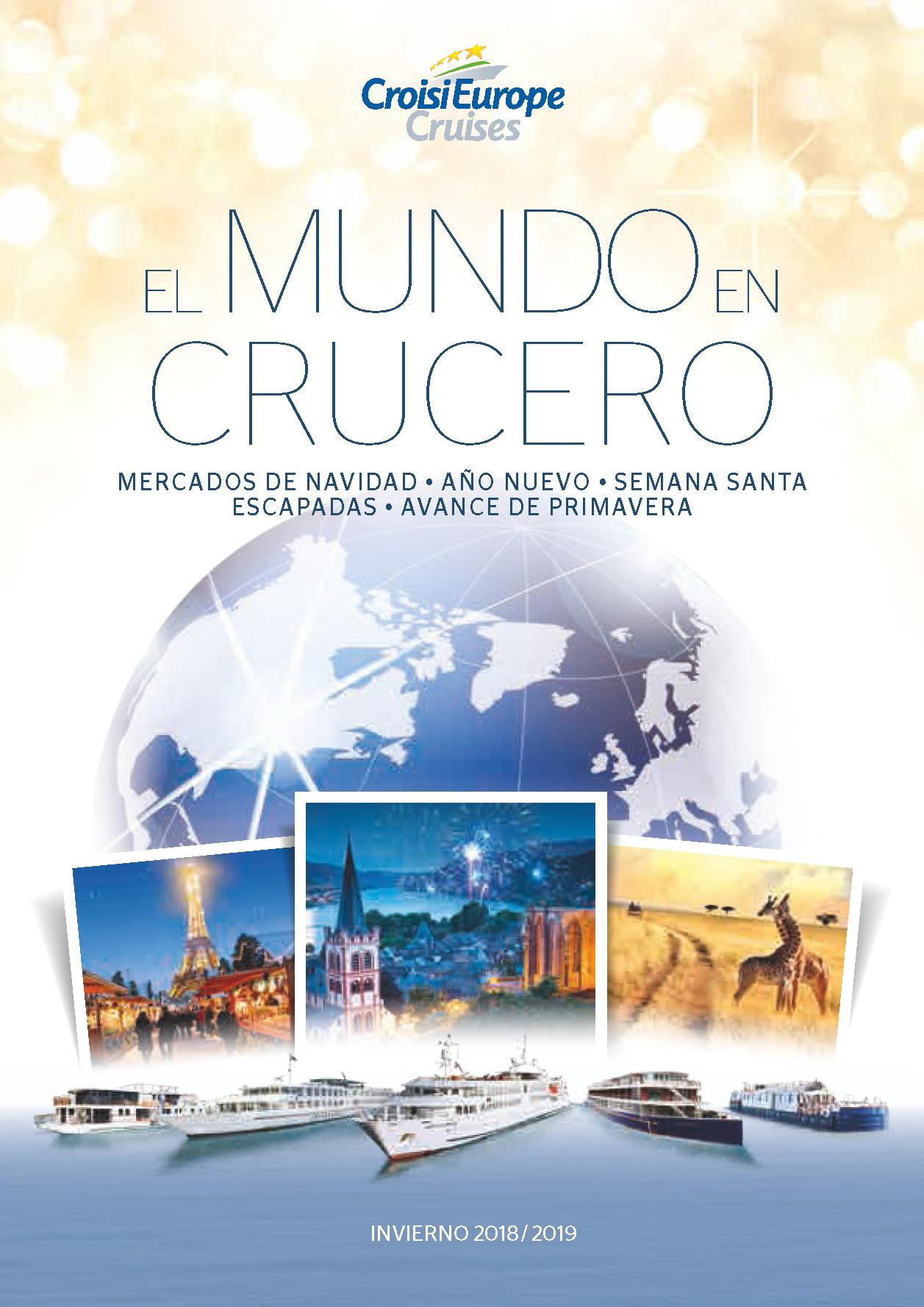 Catalogo CroisiEurope Cruceros Invierno y Semana Santa 2019