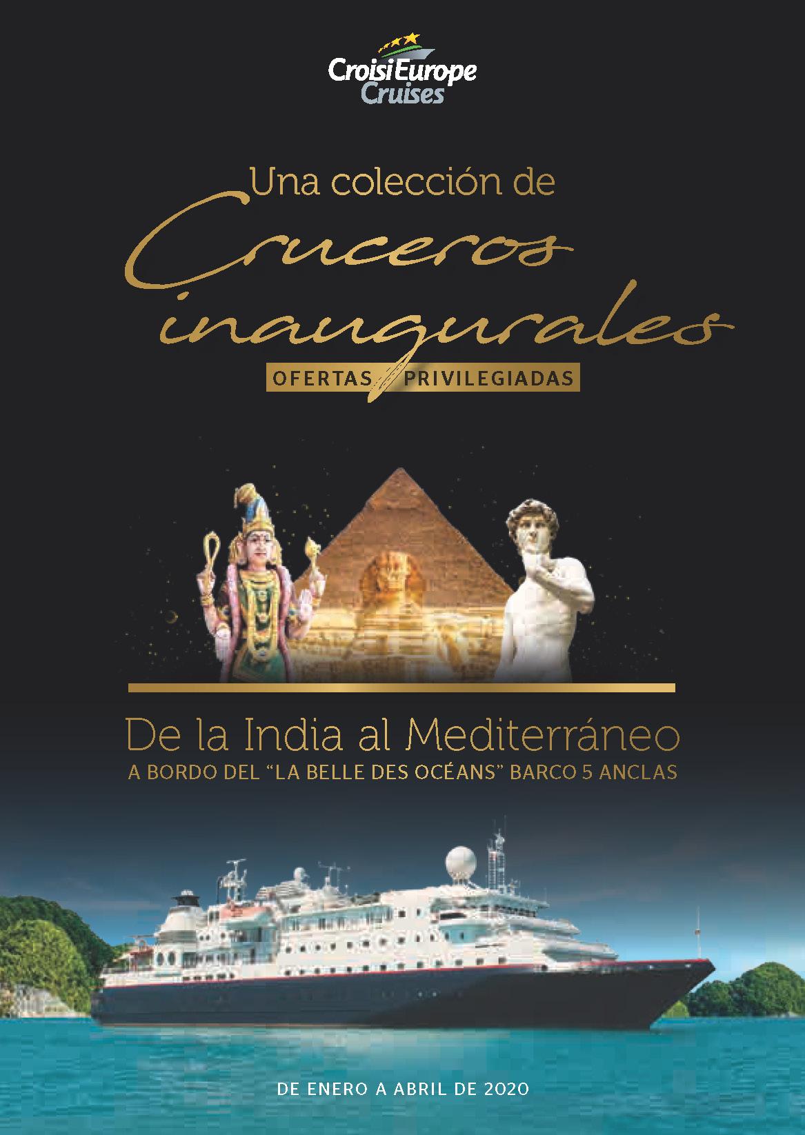 Catalogo CroisiEurope Cruceros Maritimos Invierno y Primavera 2020