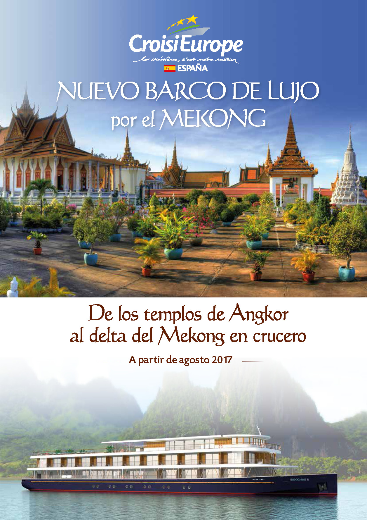 Catalogo CroisiEurope Mekong 2017