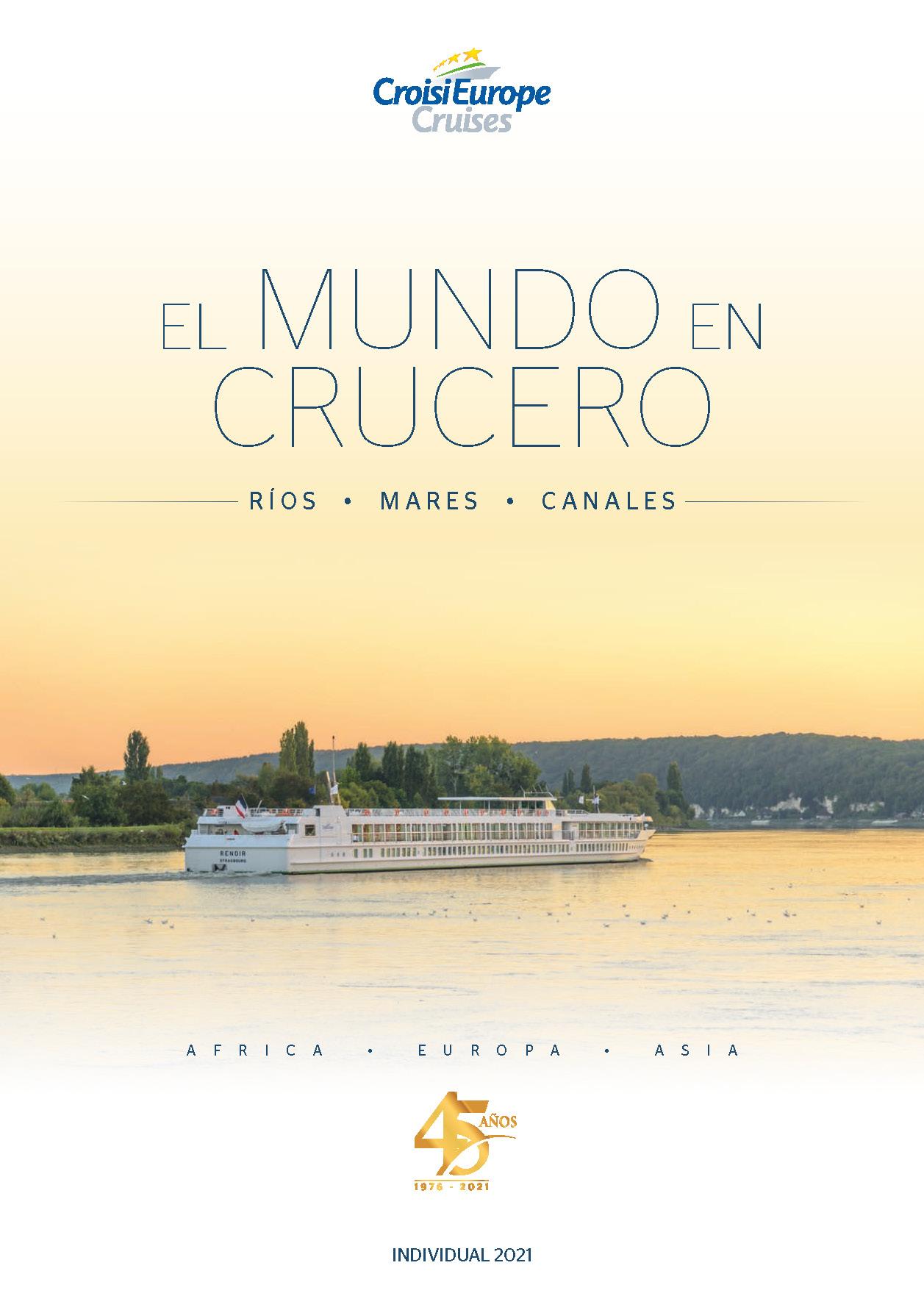 Catalogo Croisieurope Rios Mares Canales 2021