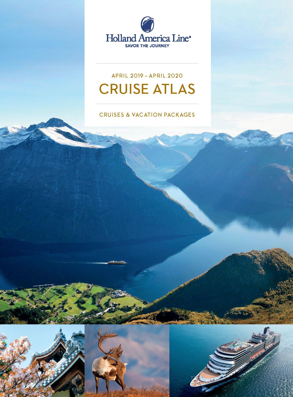 Catalogo Cruceros Holland America Line 2019-2020