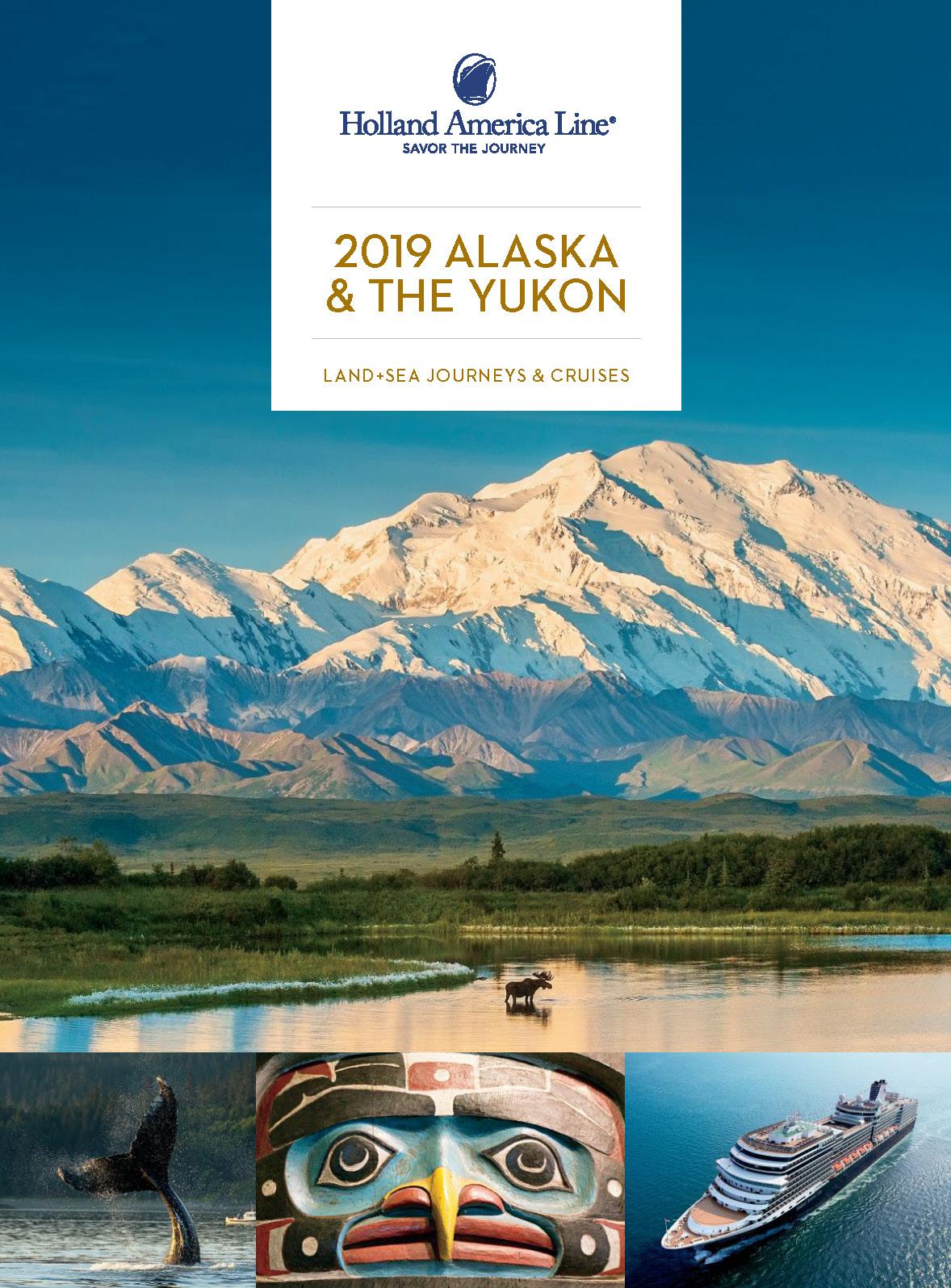 Catalogo Cruceros Holland America Line Alaska 2019