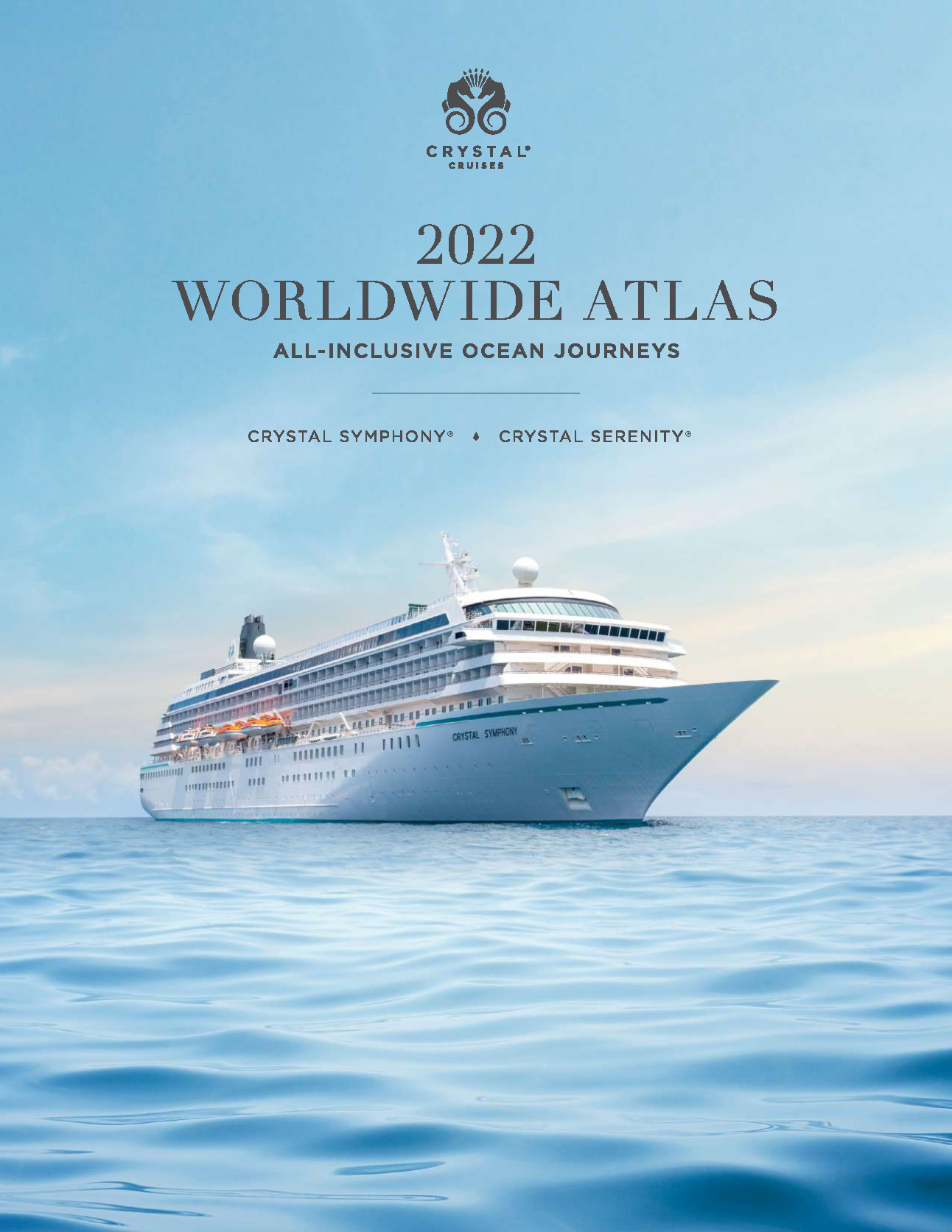 Catalogo Crystal Cruises 2022