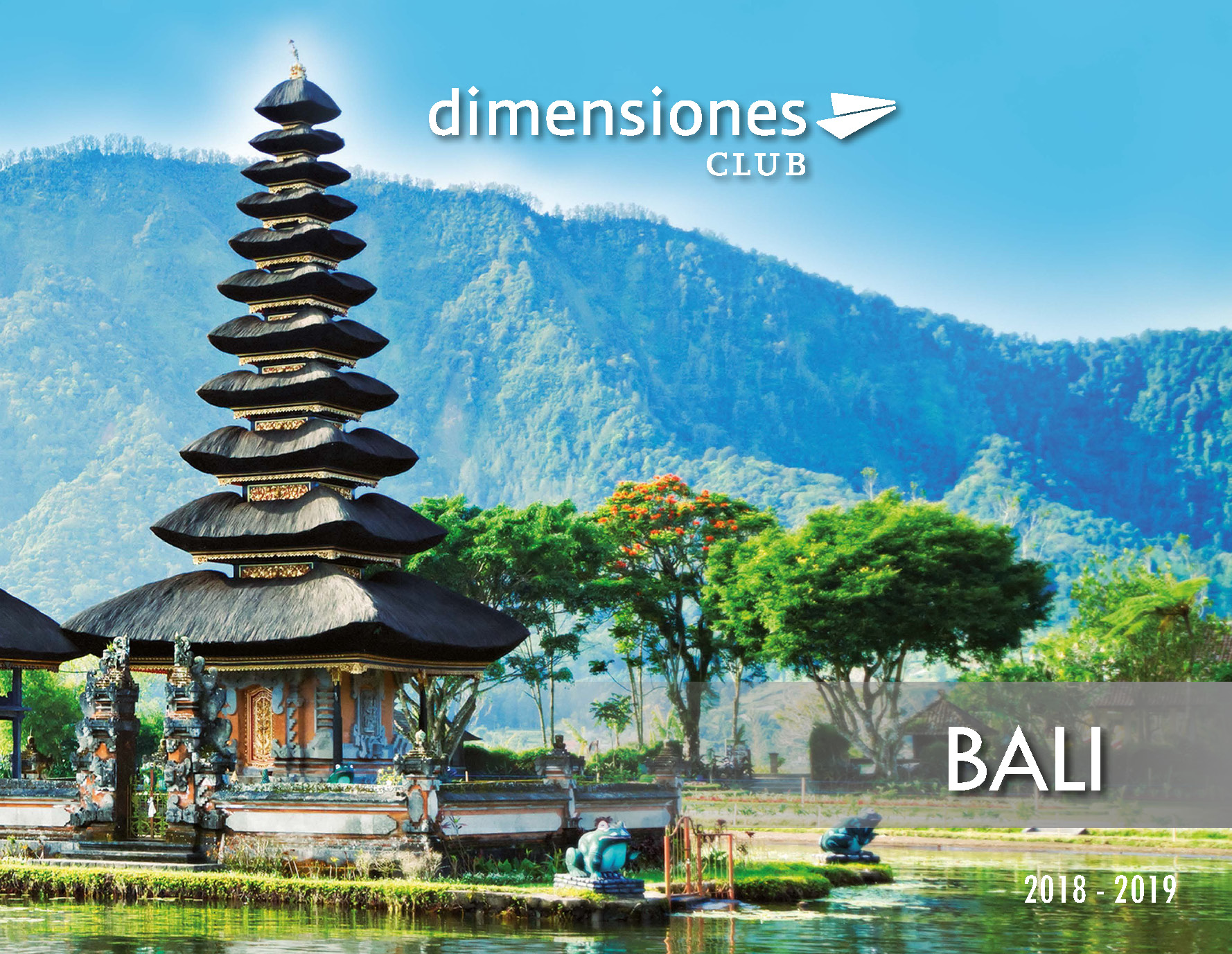 Catalogo Dimensiones Club Bali 2018-2019