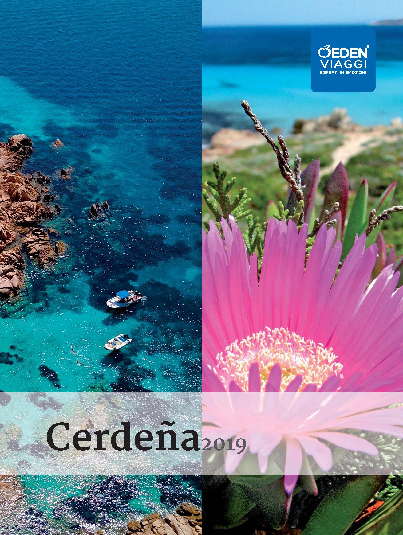 Catalogo Eden Viaggi Cerdeña 2019