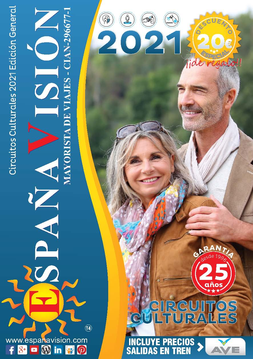 Catalogo España Vision circuitos culturales 2021 Edicion General