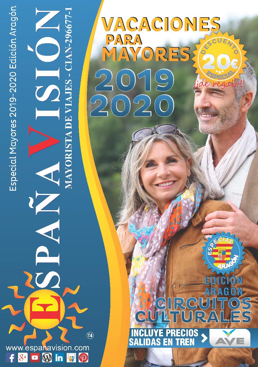 Catalogo Espana Vision Mayores 2020 salidas Aragon
