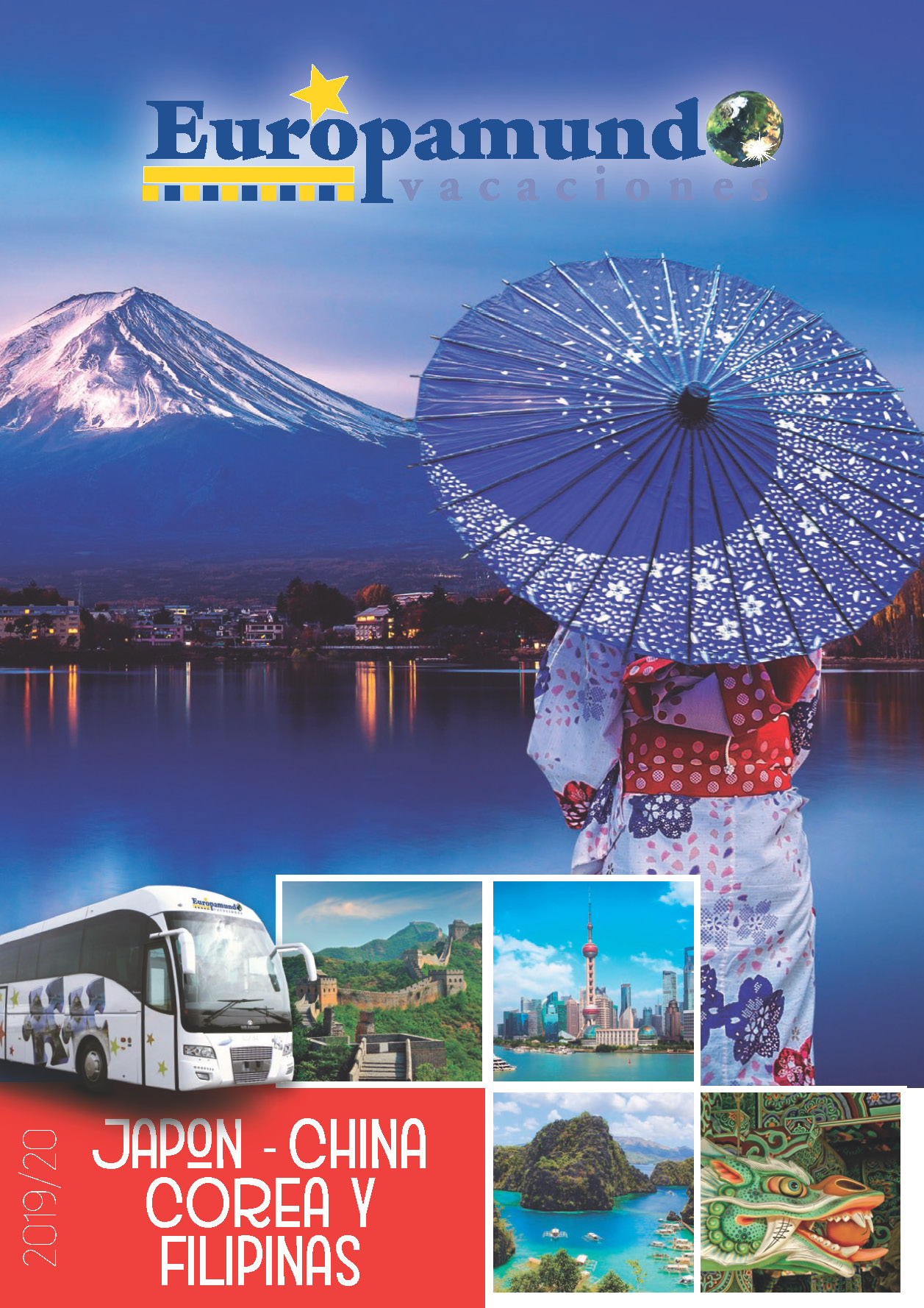 Catalogo Europamundo Japon China Corea y Filipinas 2019 2