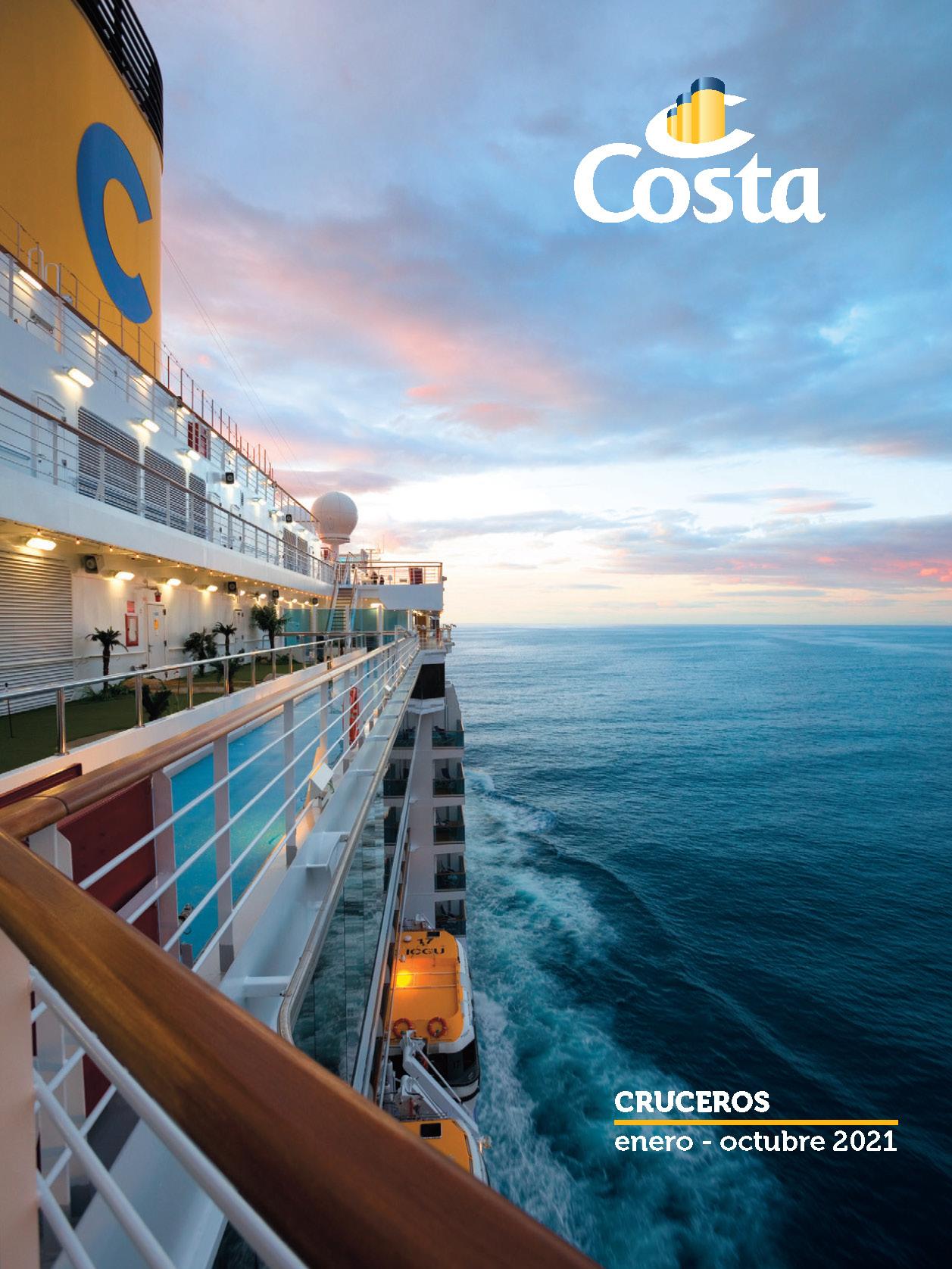 Catalogo General Costa Cruceros 2021