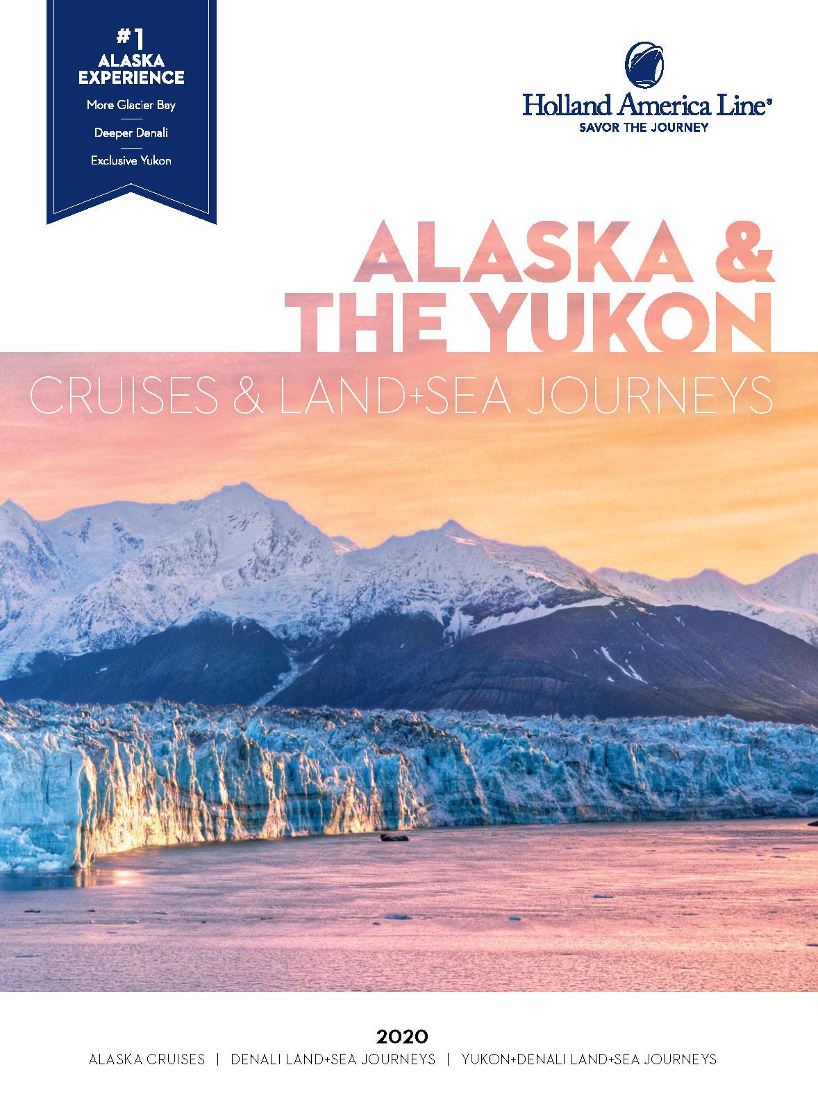 Catalogo Holland America Line Cruceros Maritimos Alaska y Yukon 2020
