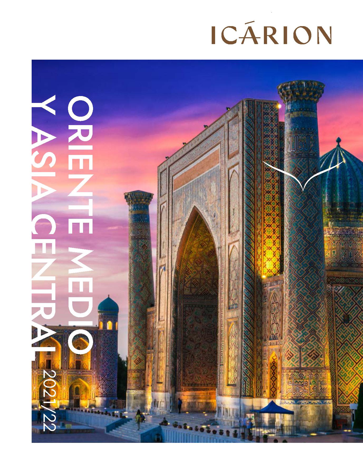 Catalogo Icarion Oriente Medio Norte de Africa y Asia Central 2021-2022