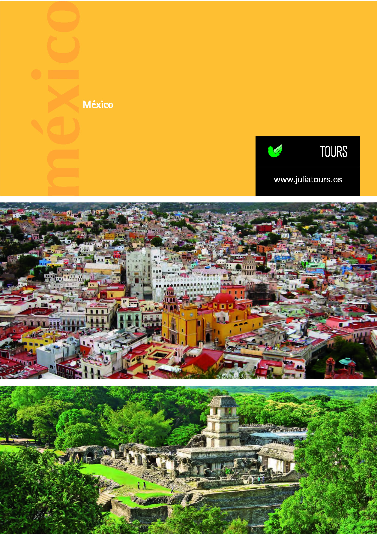 Catalogo Julia Tours MEXICO 2017