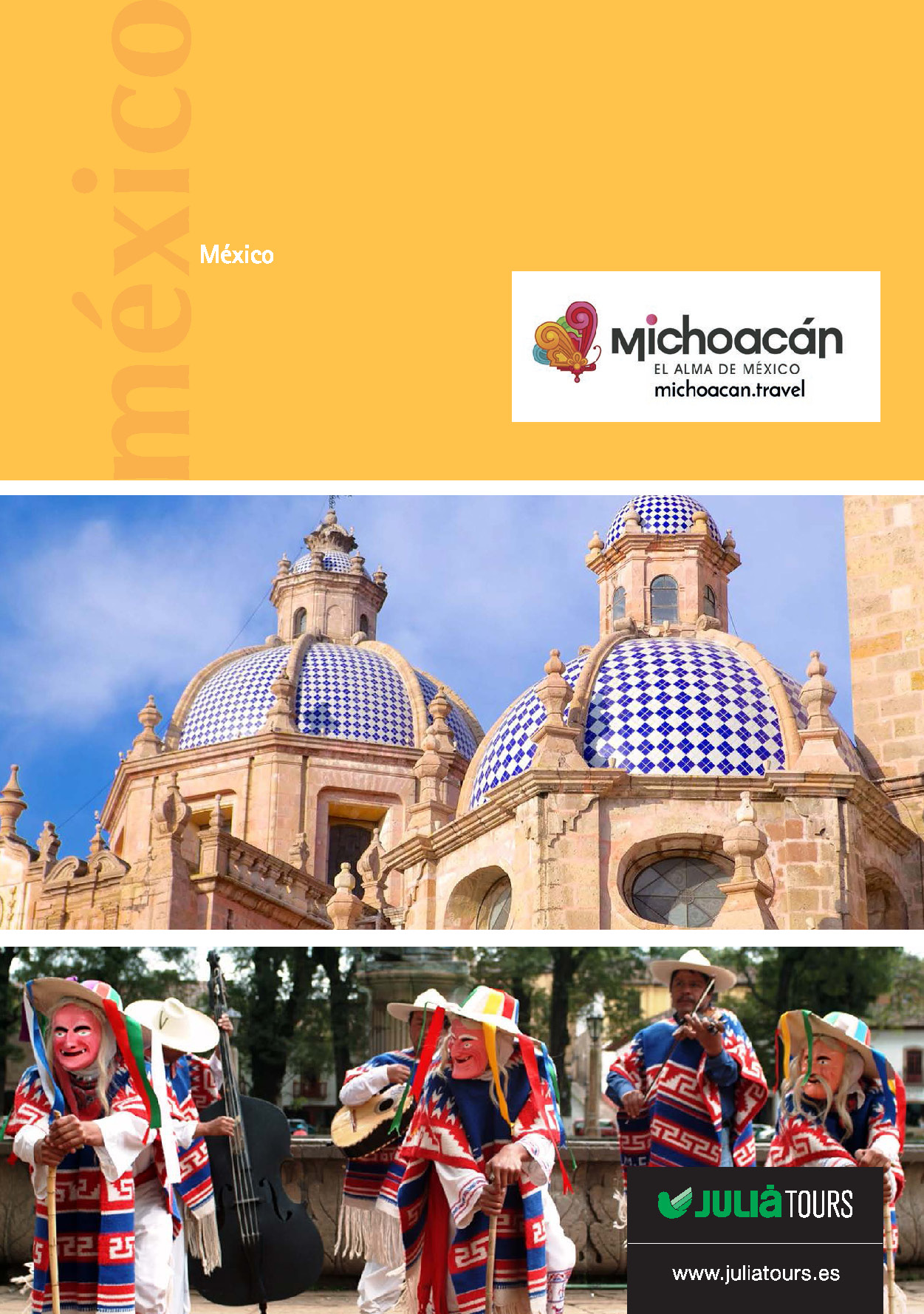 Catalogo Julia Tours Michoacan 2018-2019