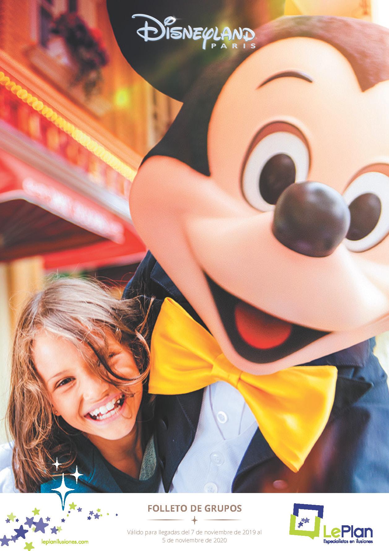 Catalogo LePlan Ilusiones Disneyland Paris Grupos 2019-2020 C1-2