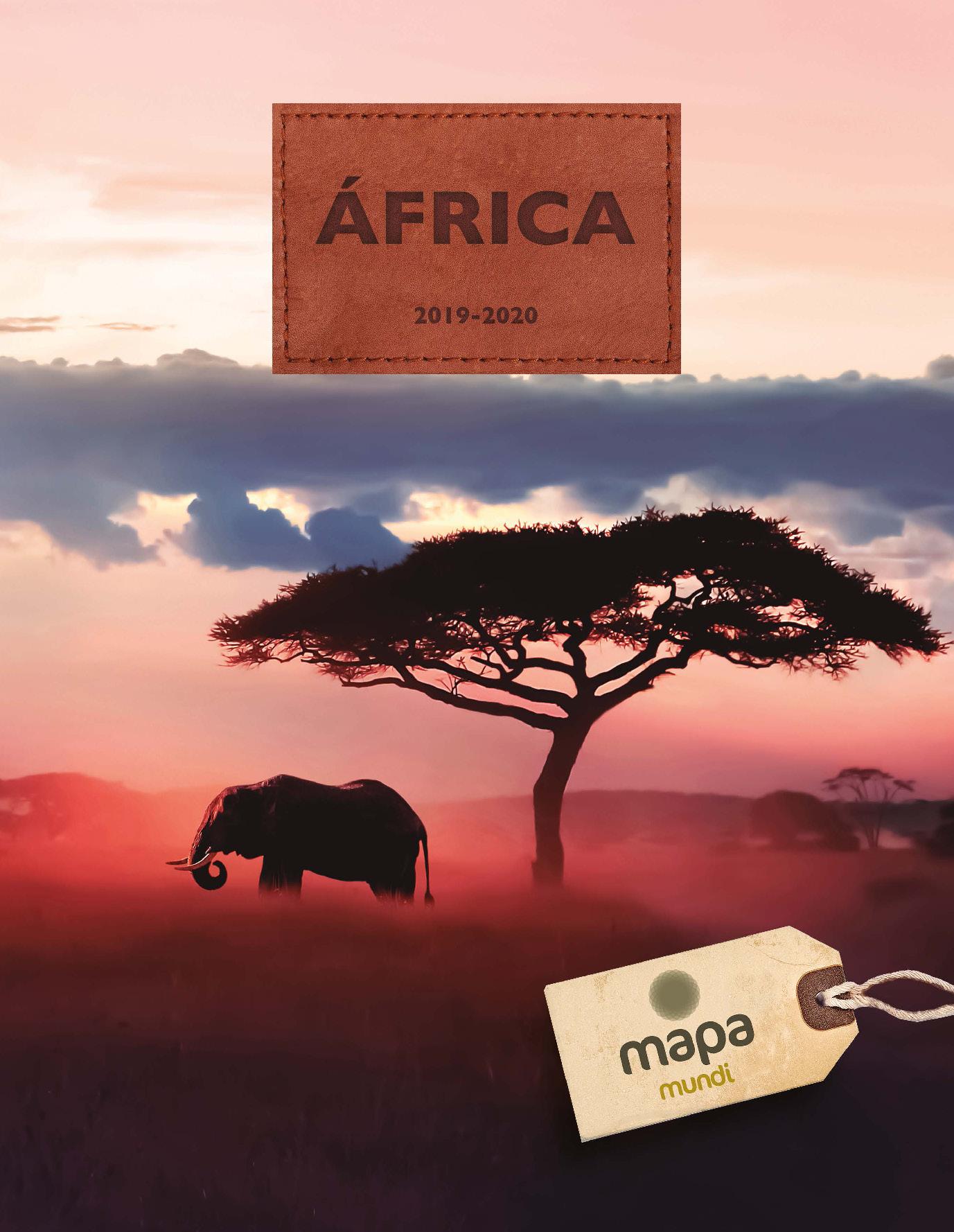 Catalogo Mapa Tours Africa 2019-2020