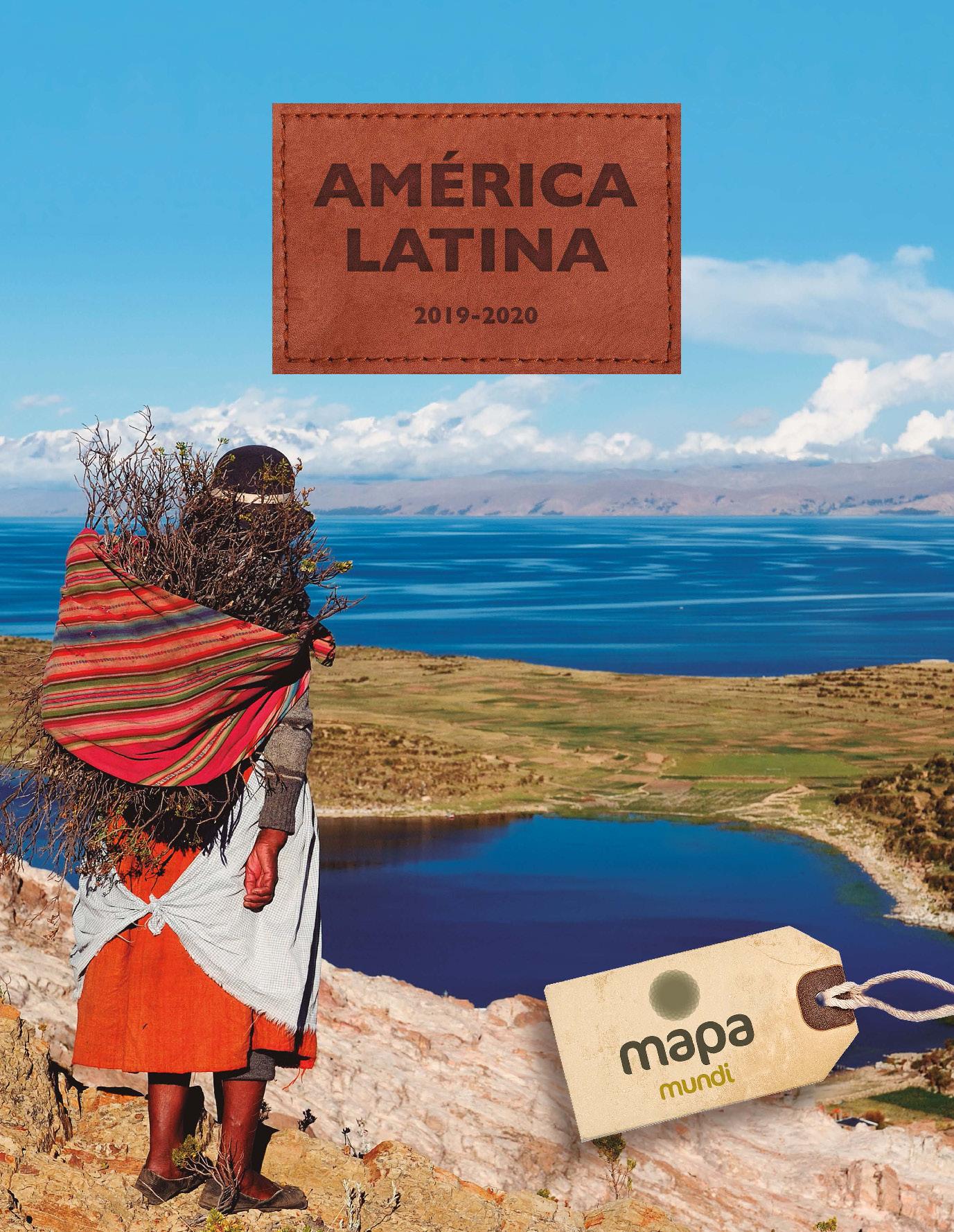 Catalogo Mapa Tours America Latina 2019-2020