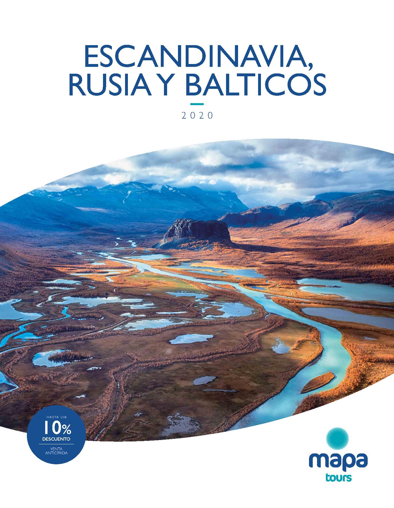 Catalogo Mapa Tours Escandinavia Rusia y Balticos 2020
