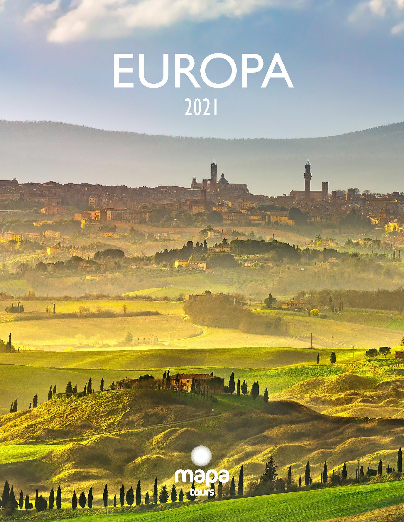 Catalogo Mapa Tours Europa 2021
