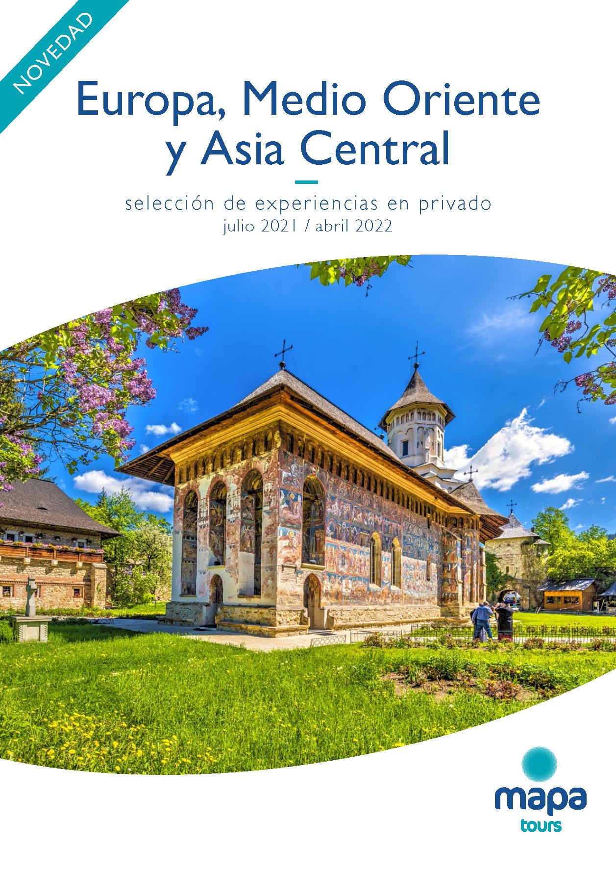 Catalogo Mapa Tours Europa Oriente Medio y Asia Central en privado 2021-2022
