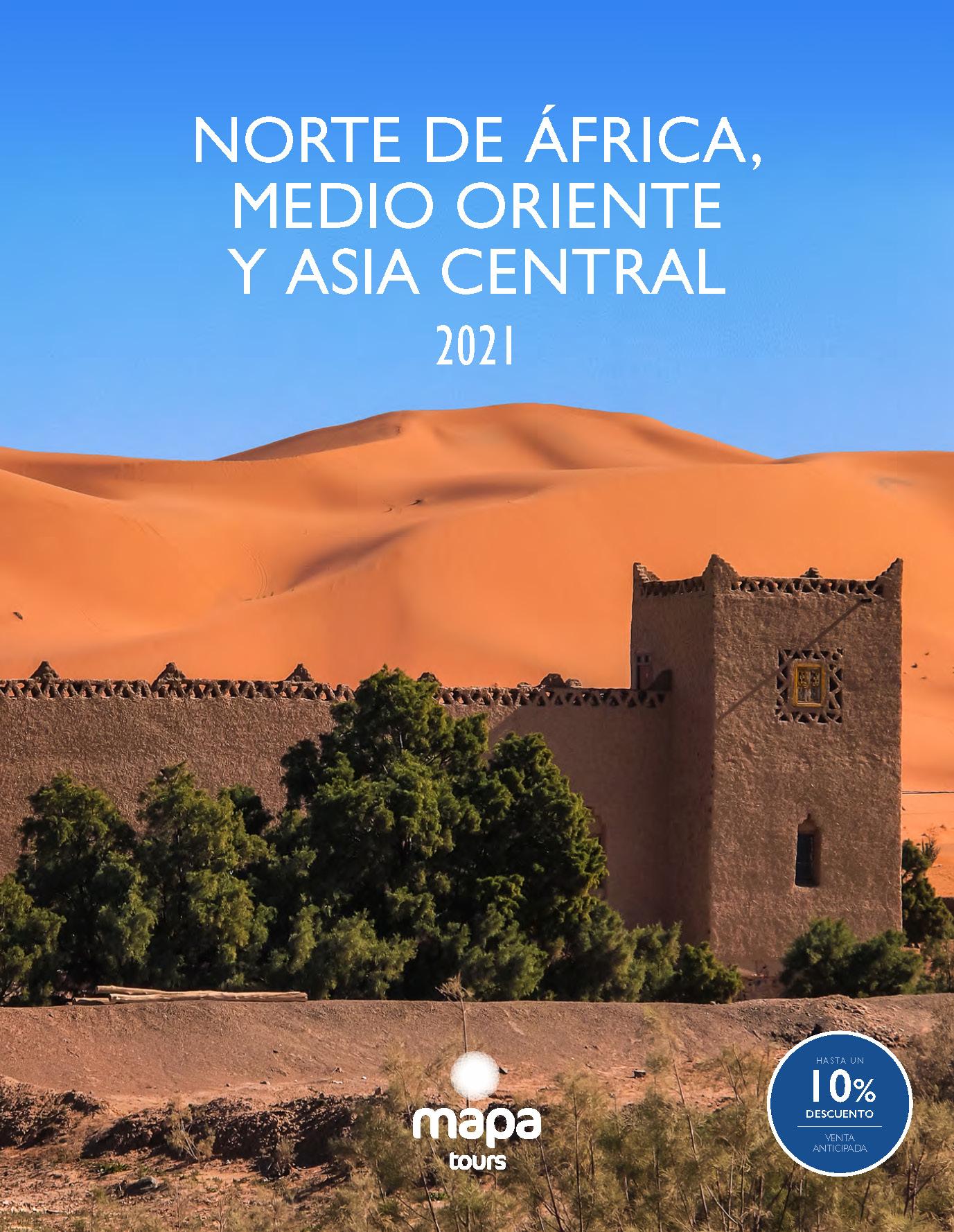 Catalogo Mapa Tours Oriente Medio Norte de Africa y Asia Central 2021