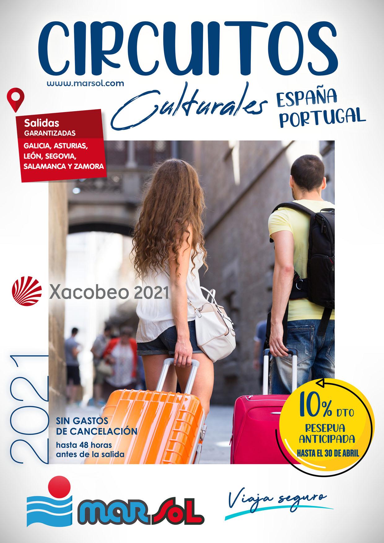 Catalogo Marsol Circuitos España y Portugal Verano 2021 Salidas zona Noroeste
