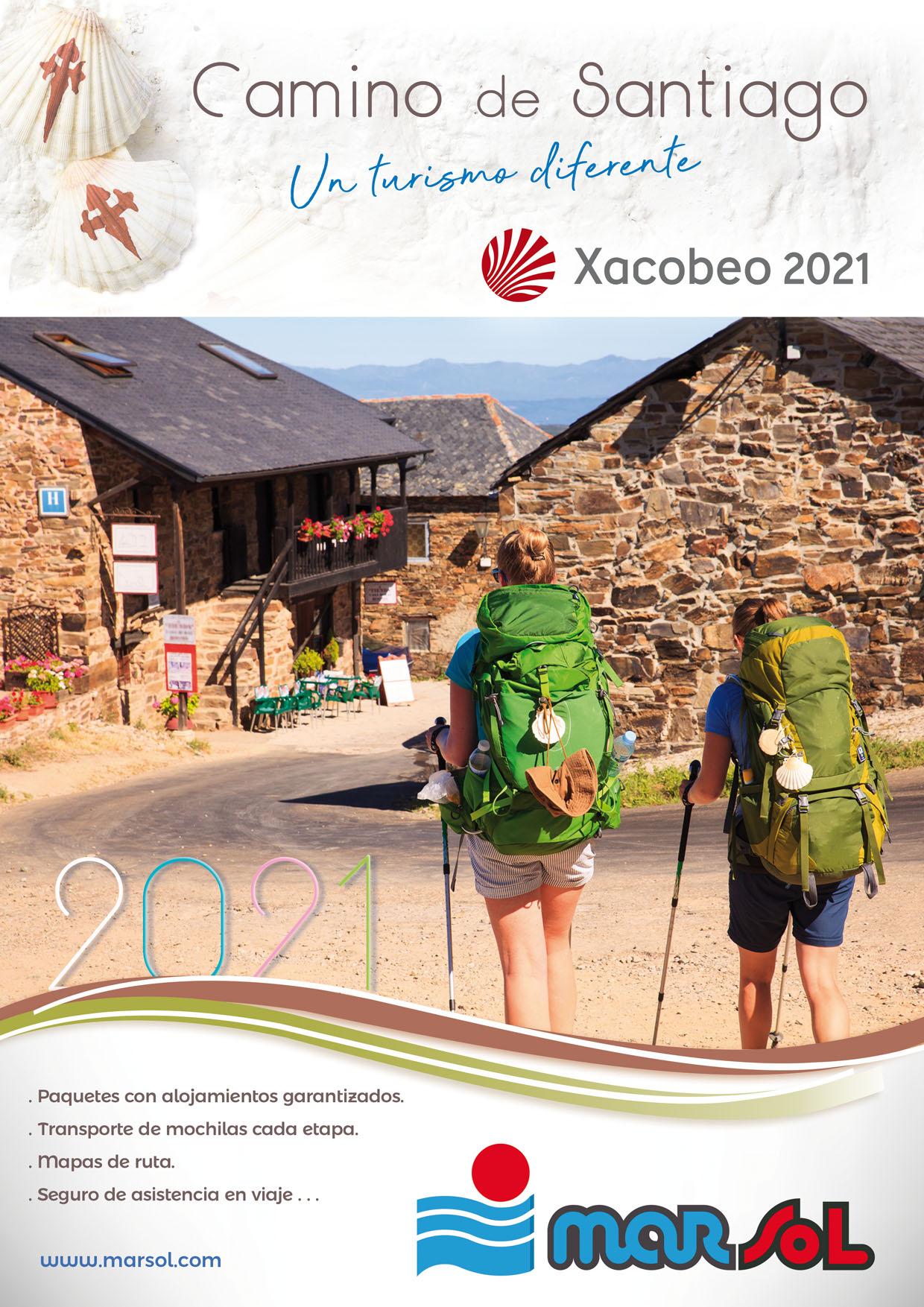 Catalogo Marsol Circuitos a pie Camino de Santiago Xacobeo 2021