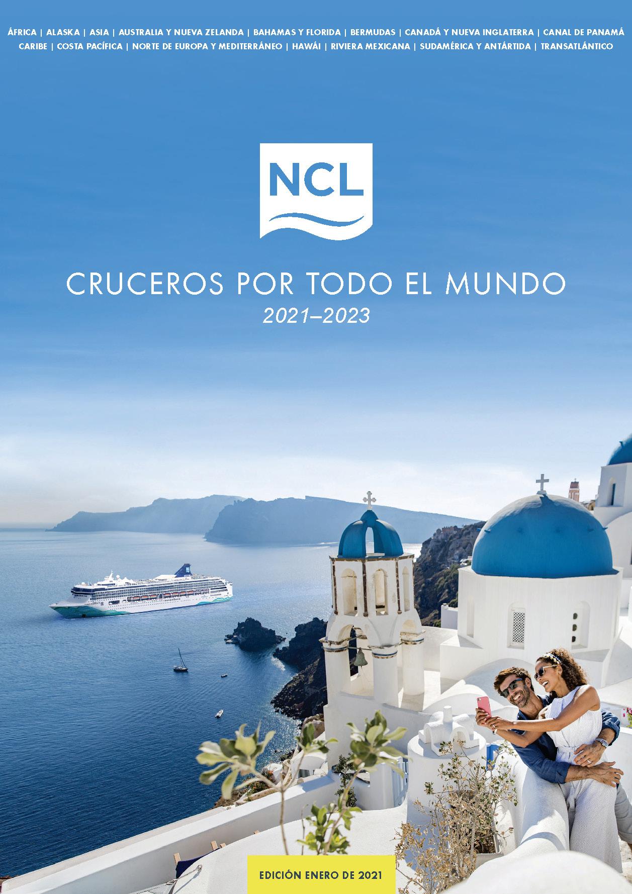 Catalogo Norwegian Cruise Line 2021-2023