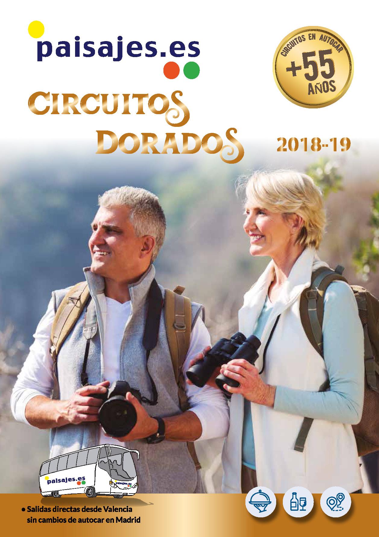 Catalogo Paisajes Circuitos Mayores de 55 años 2018