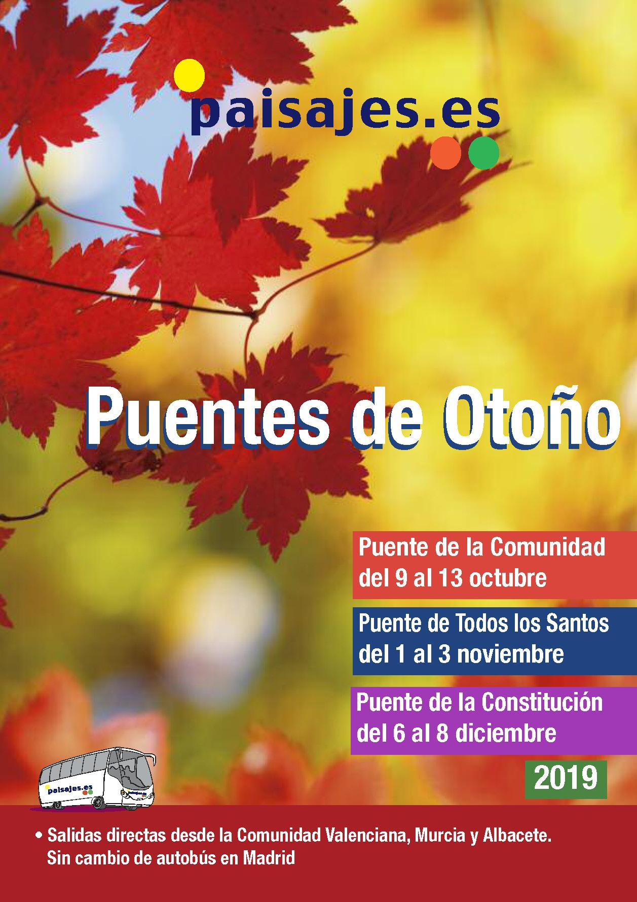 Catalogo Paisajes Puentes de Otoño 2019