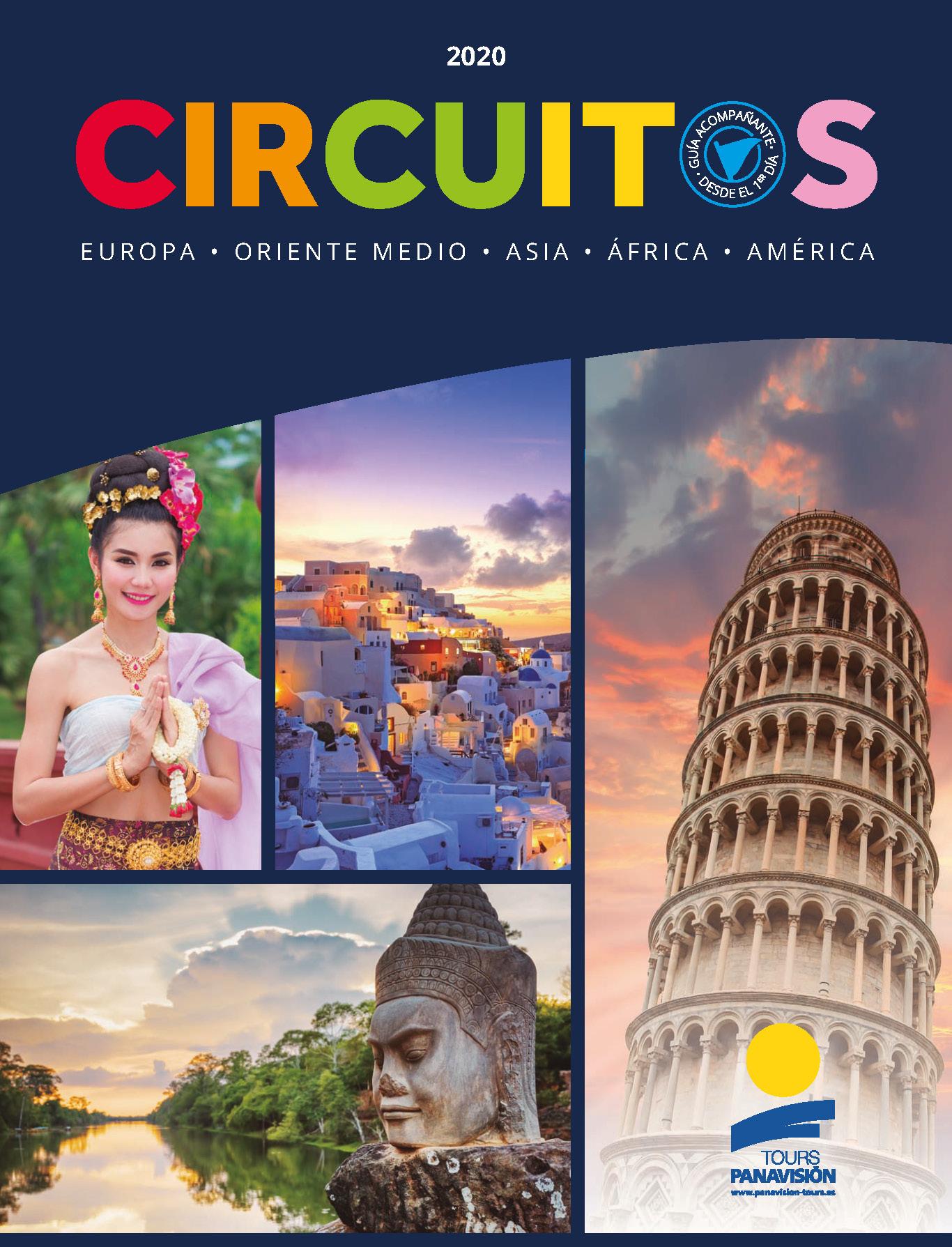 Catalogo Panavision Tours Circuitos Europa Oriente Medio Asia Africa America 2020 FG0