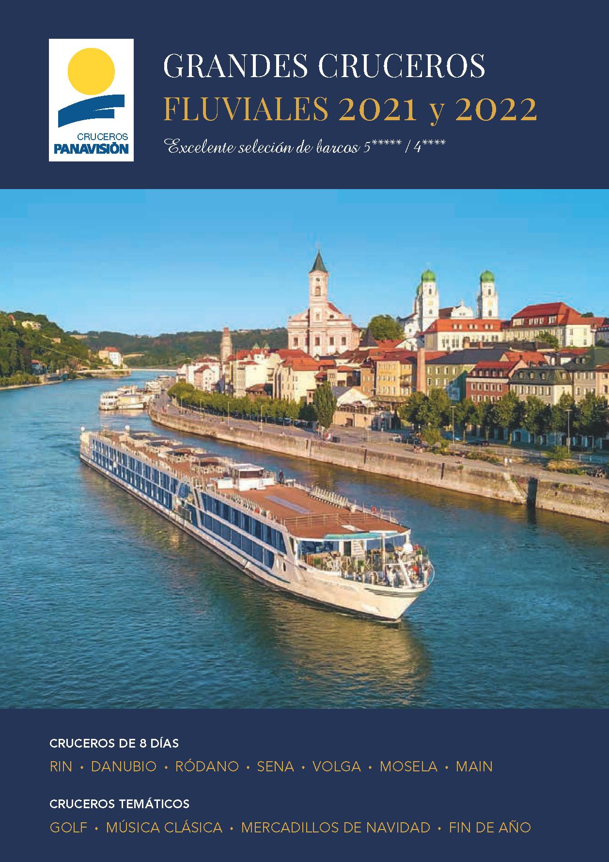 Catalogo Panavision Tours Cruceros Fluviales 2021-2022 CR1