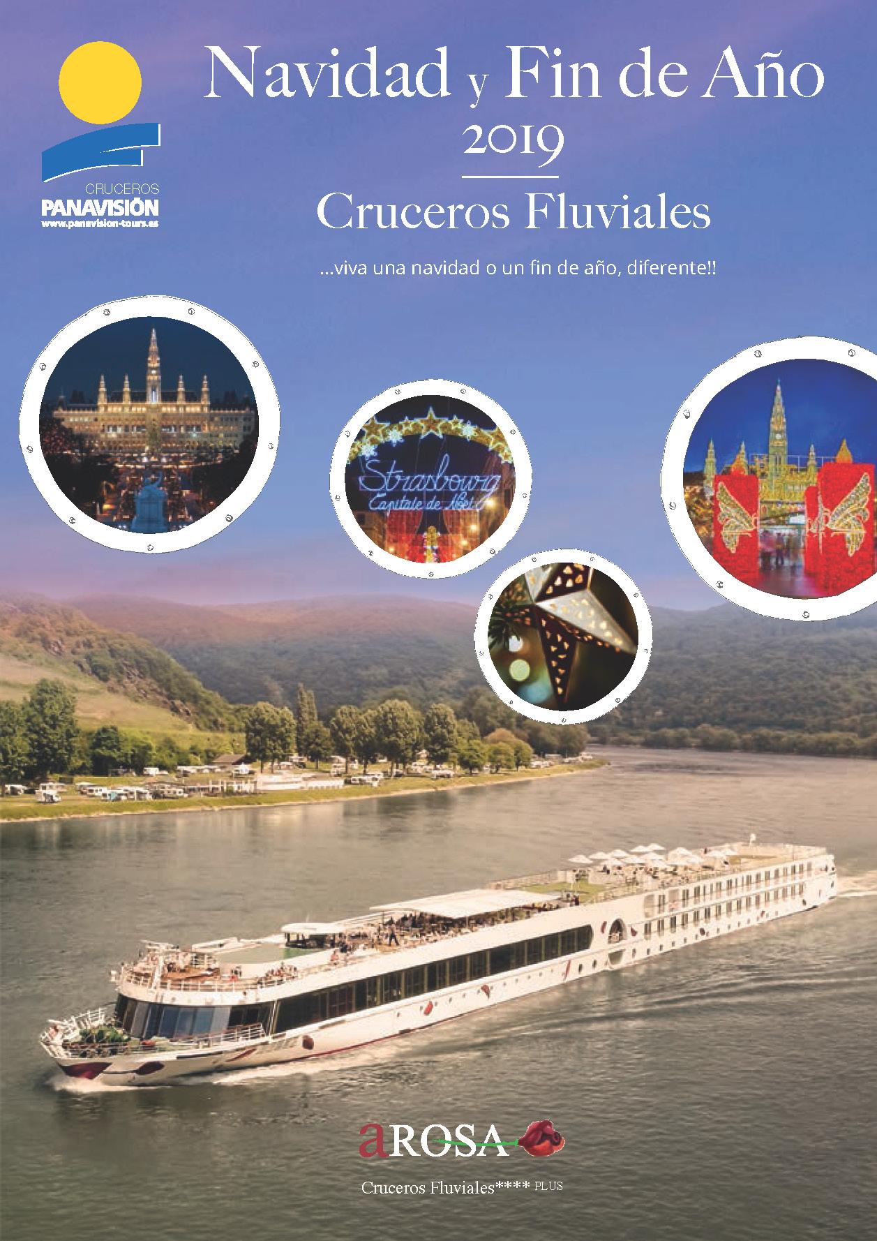 Catalogo Panavision Tours Cruceros Fluviales Navidad y Fin de Año 2019 CX9
