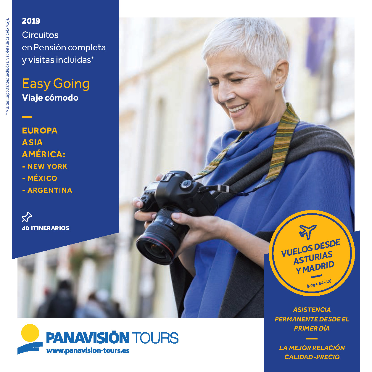 Catalogo Panavision Tours Easy Going 2019 salidas Madrid y Asturias ES9