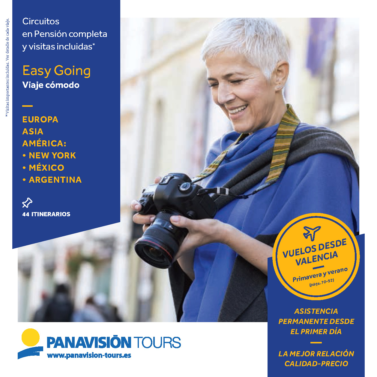 Catalogo Panavision Tours Easy Going 2019 salidas Valencia EG9