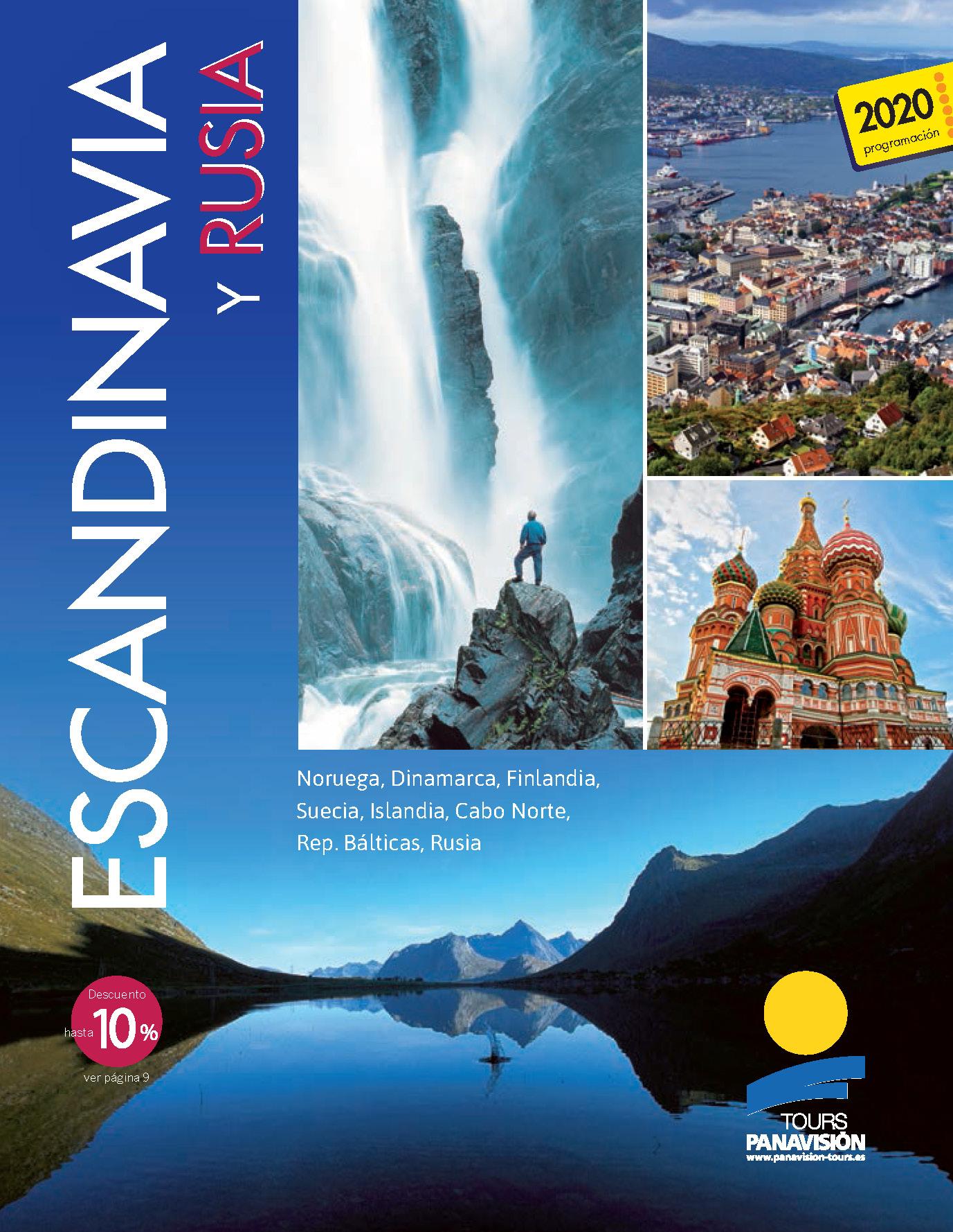 Catalogo Panavision Tours Escandinavia y Rusia 2020 FE0