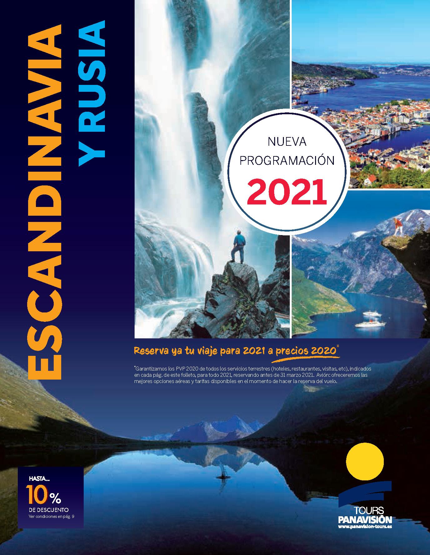Catalogo Panavision Tours Escandinavia y Rusia 2021 FEV