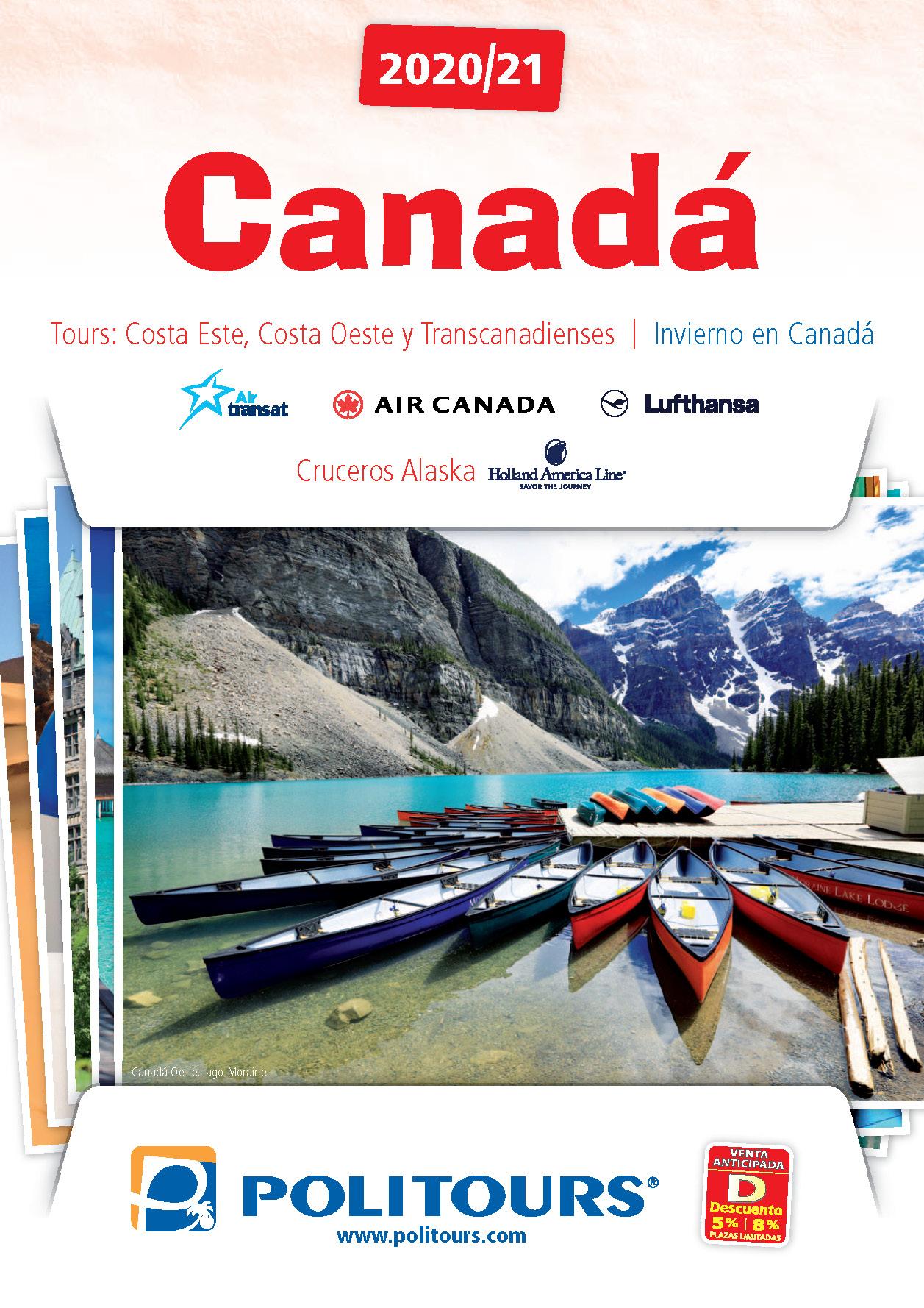 Catalogo Politours Canada 2020-2021