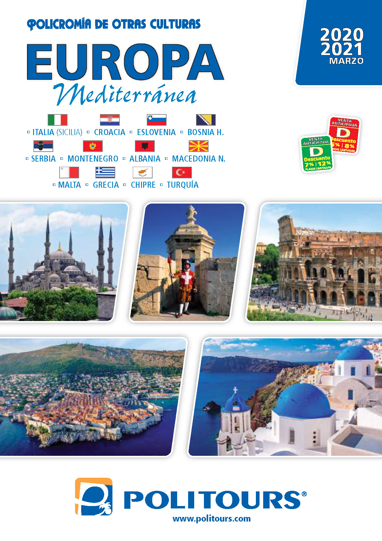Catalogo Politours Europa Mediterranea 2020-2021