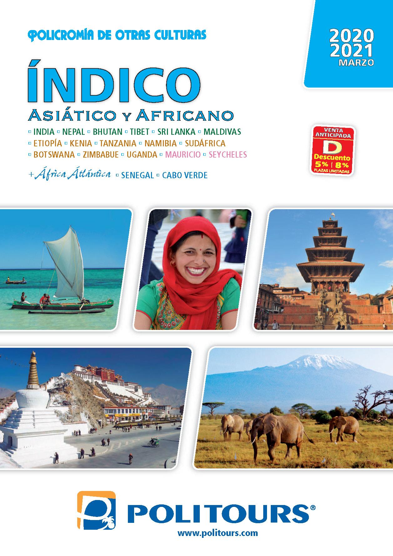 Catalogo Politours Indico Asiatico y Africano 2020-2021
