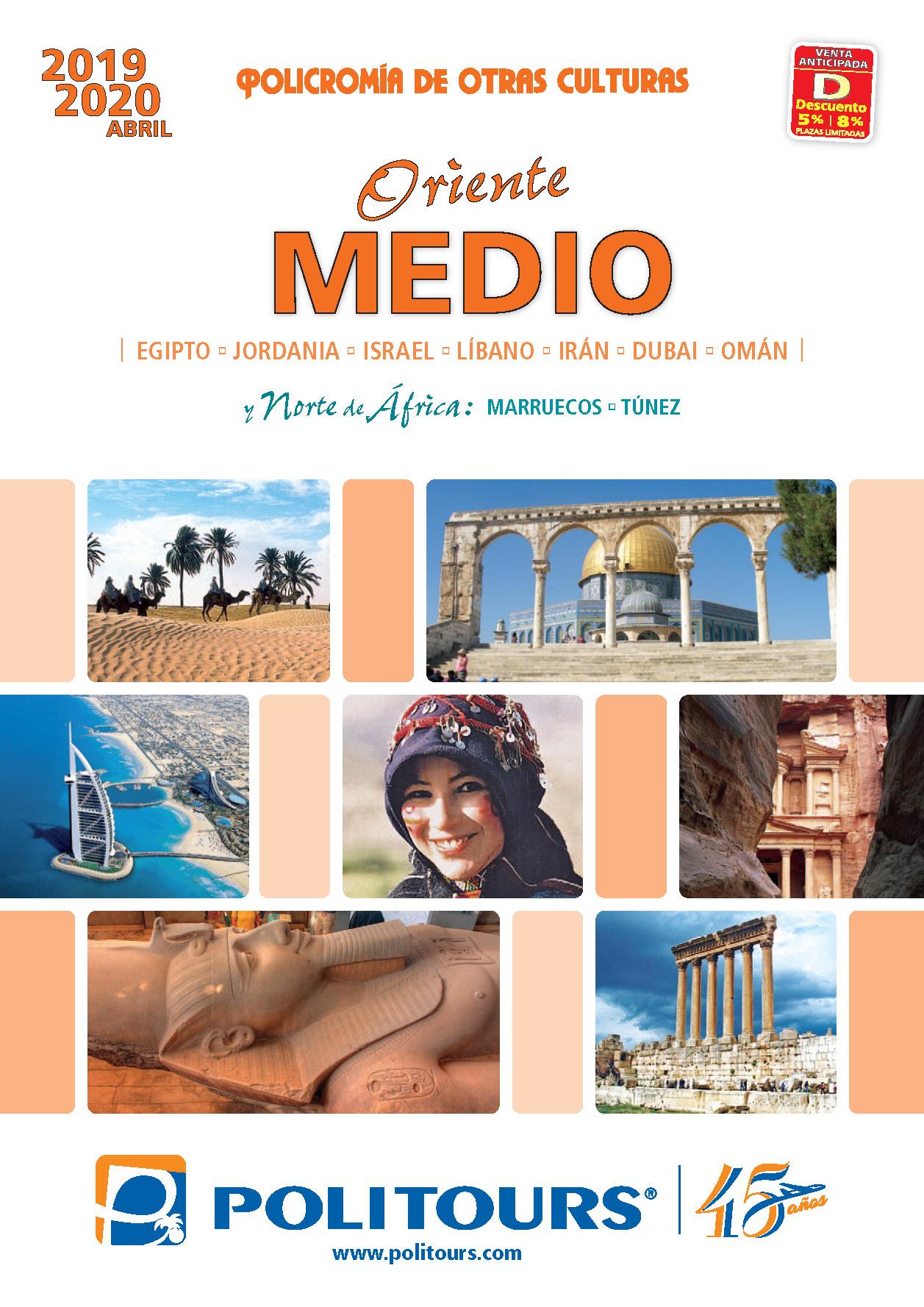 Catalogo Politours Oriente Medio 2019-2020